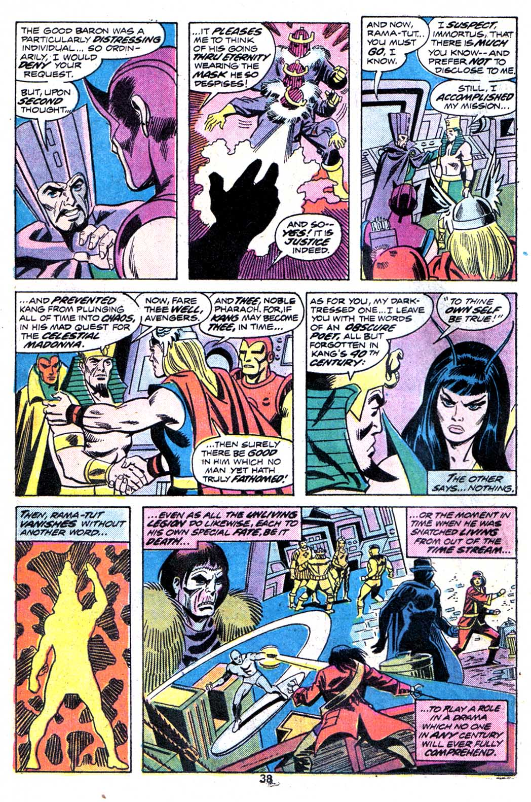 Giant-Size Avengers (1974) issue 3 - Page 40