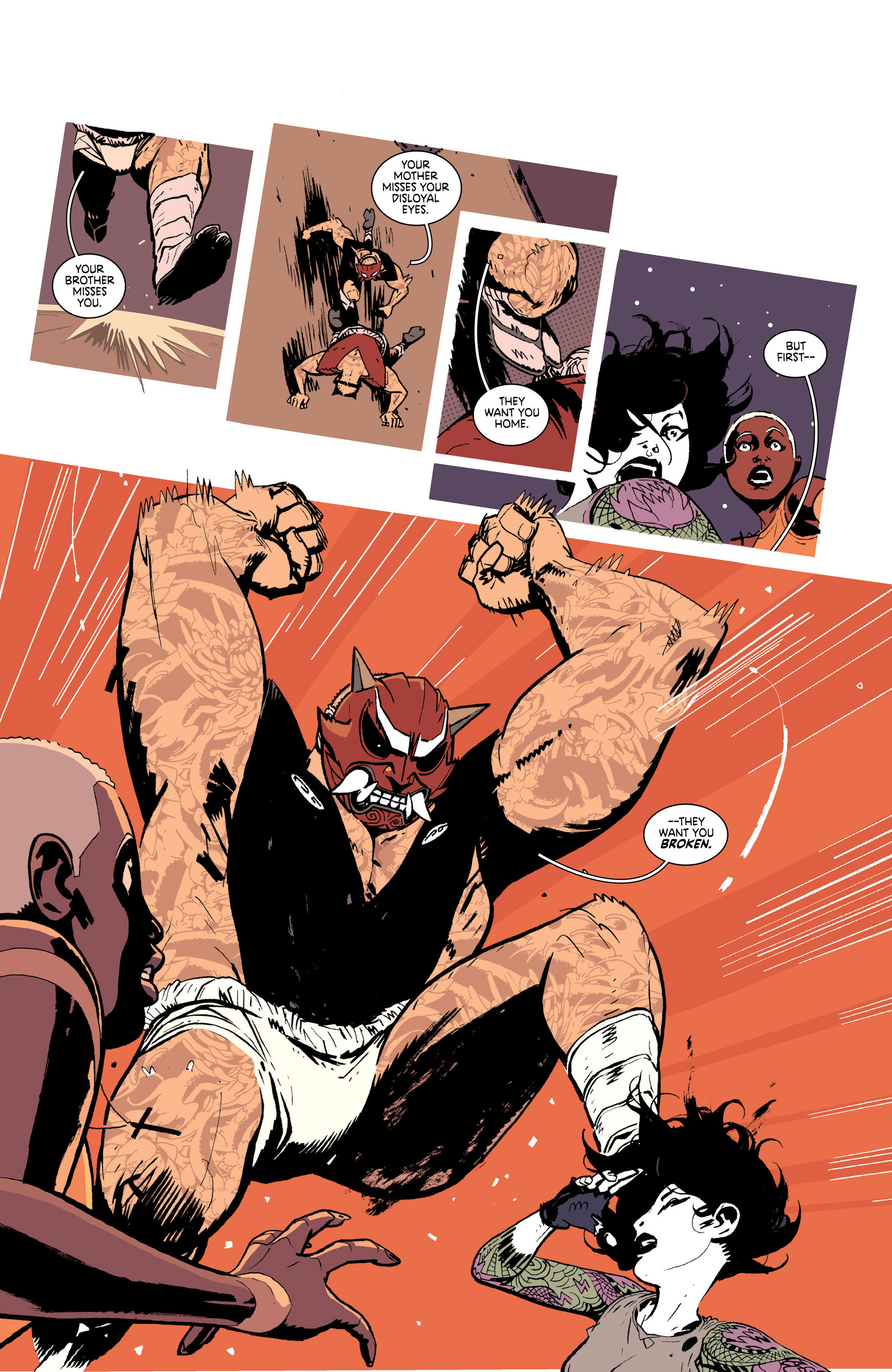 Read online Deadly Class comic -  Issue #25 - 9