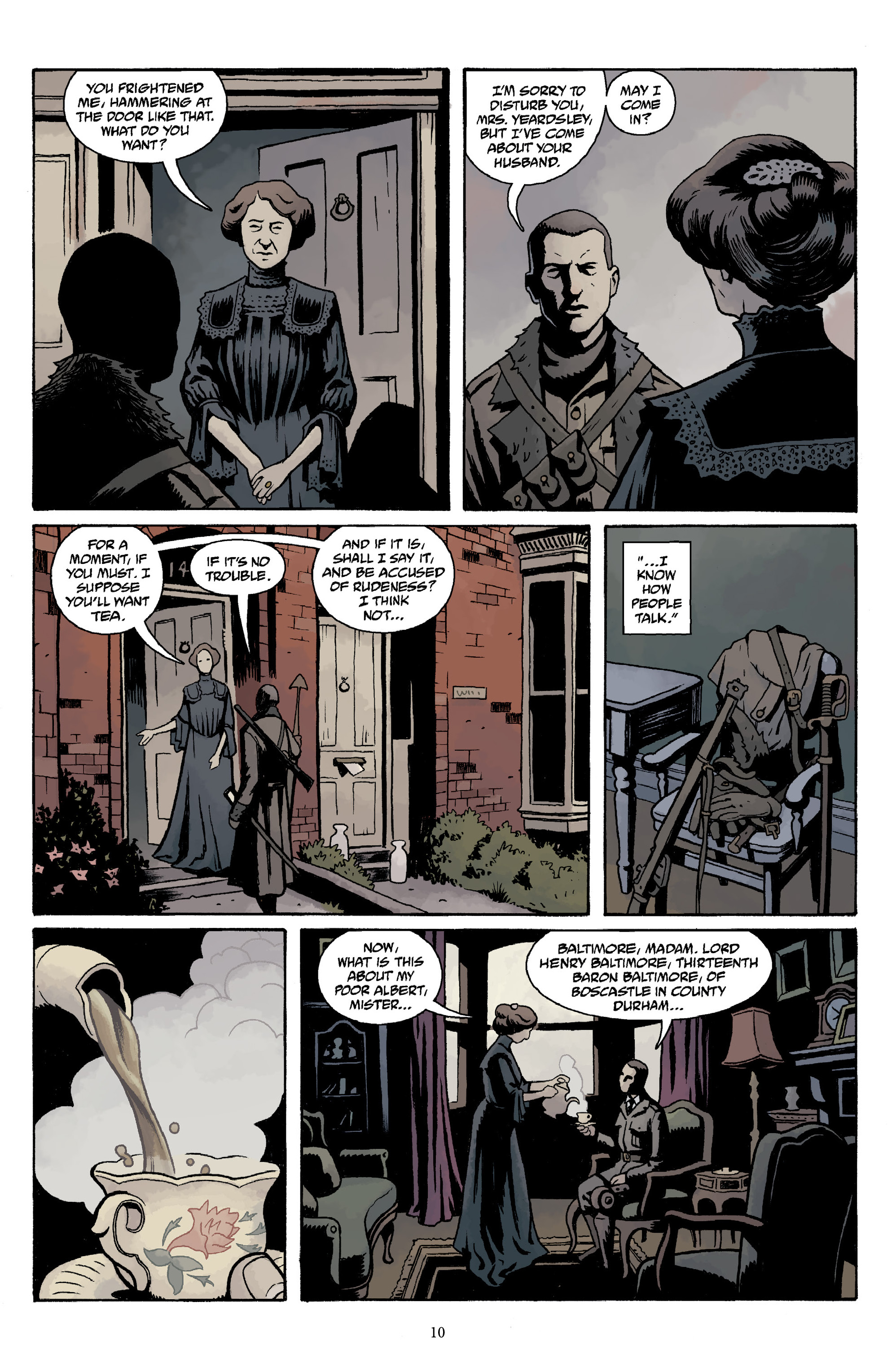 Read online Baltimore Volume 3: A Passing Stranger and Other Stories comic -  Issue # Full - 12
