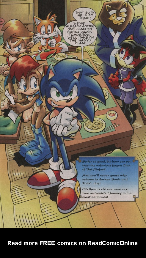 Read online Sonic Universe comic -  Issue #13 - 23