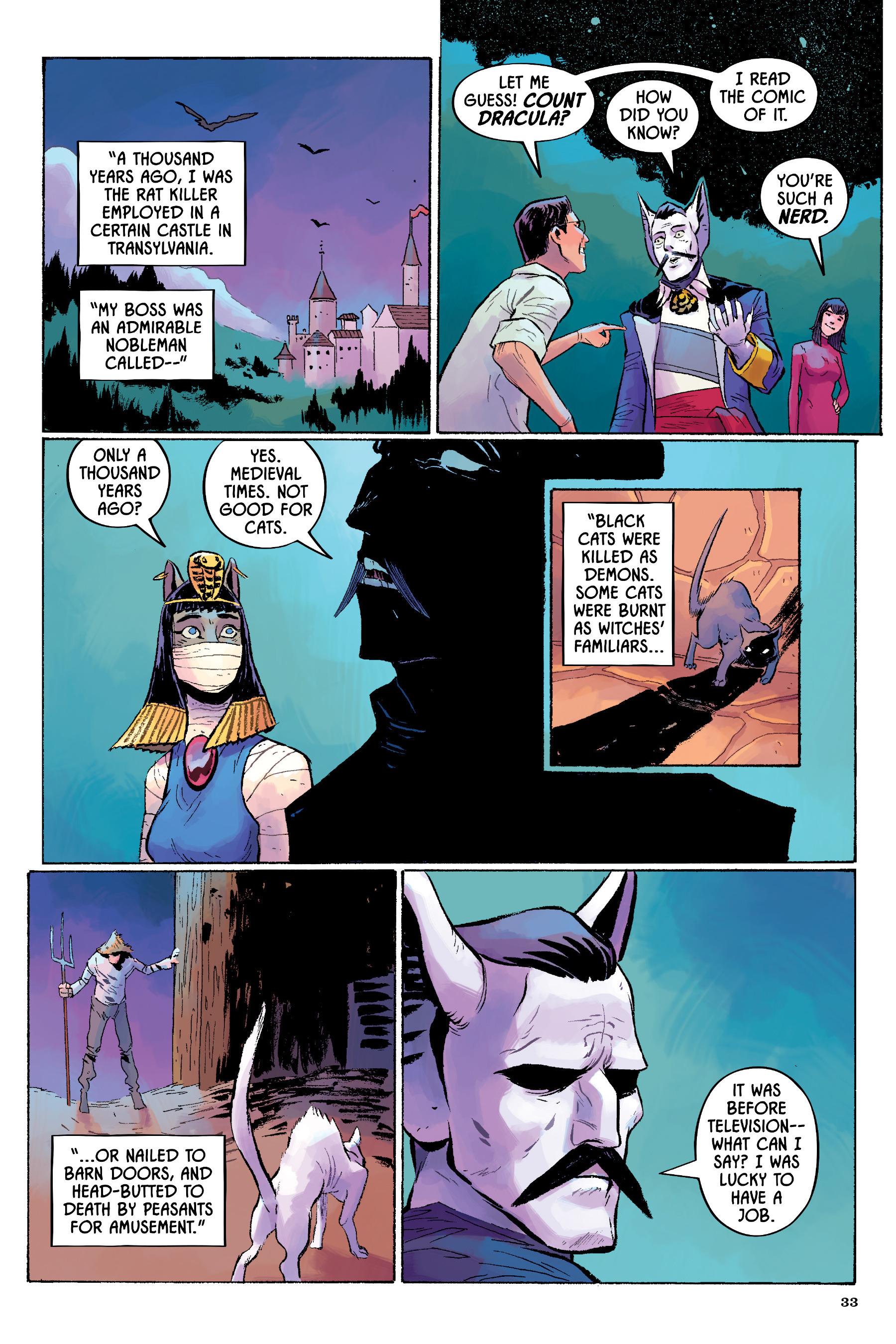 Read online Angel Catbird comic -  Issue # TPB 2 - 34