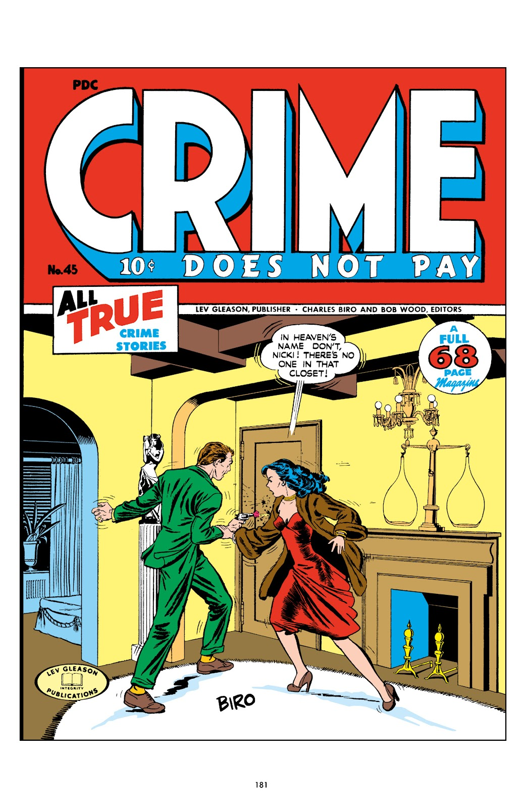 Read online Crime Does Not Pay Archives comic -  Issue # TPB 6 (Part 2) - 82