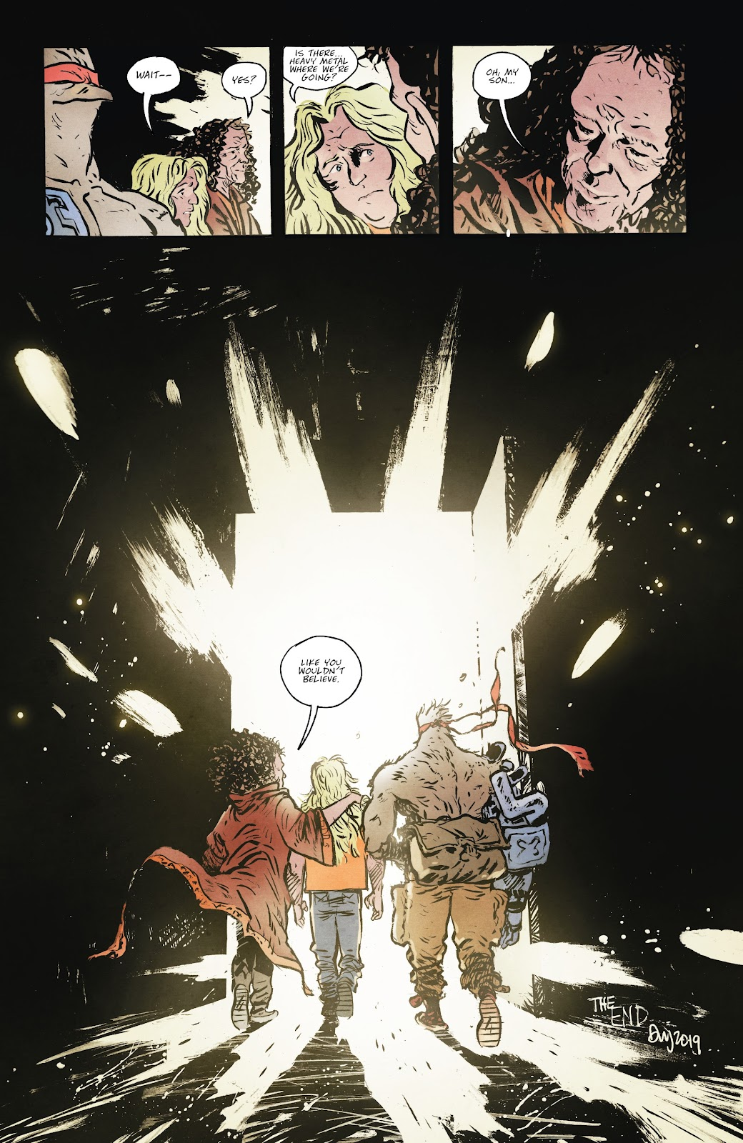 Read online Murder Falcon comic -  Issue #8 - 26