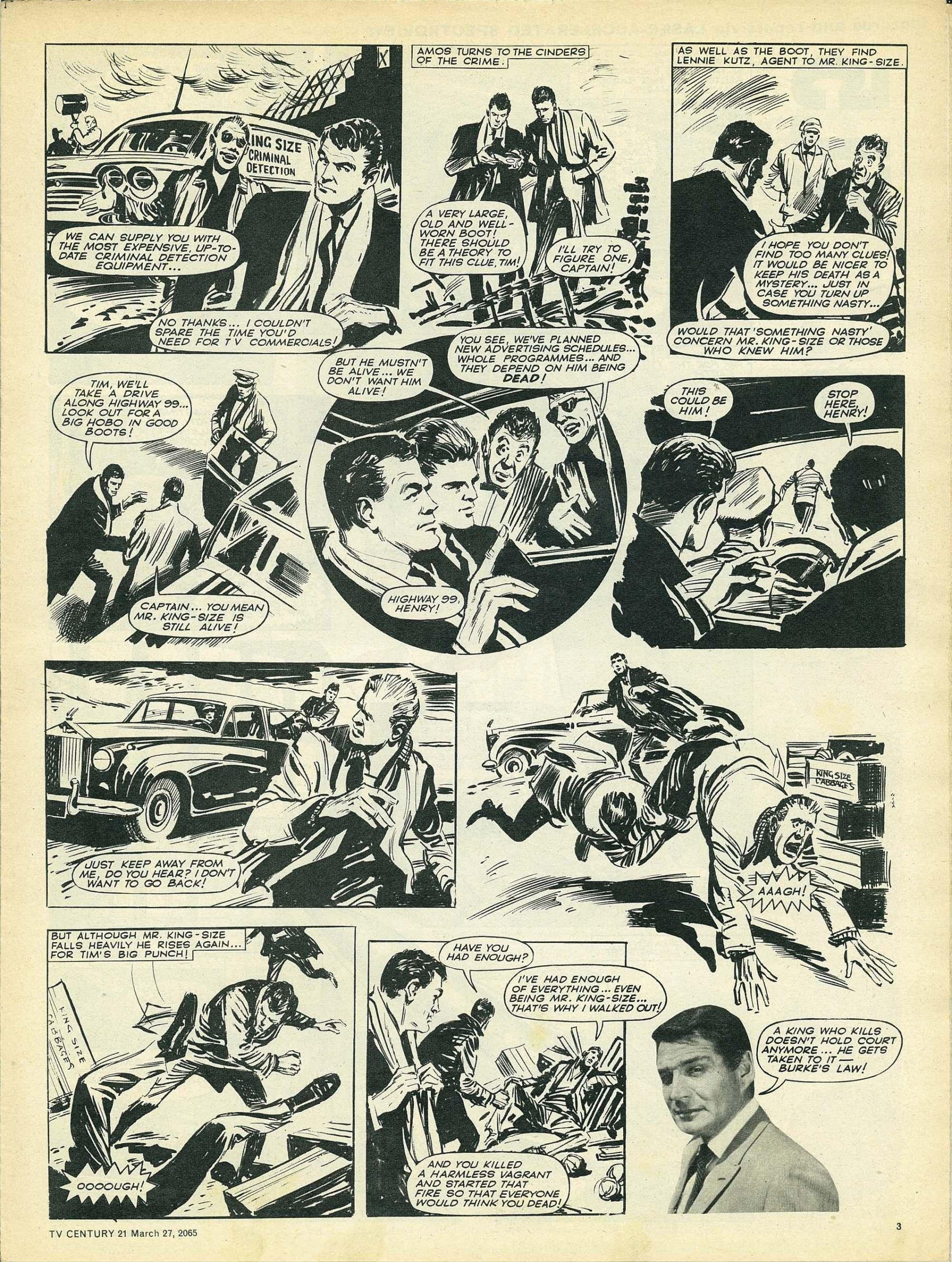 Read online TV Century 21 (TV 21) comic -  Issue #10 - 3