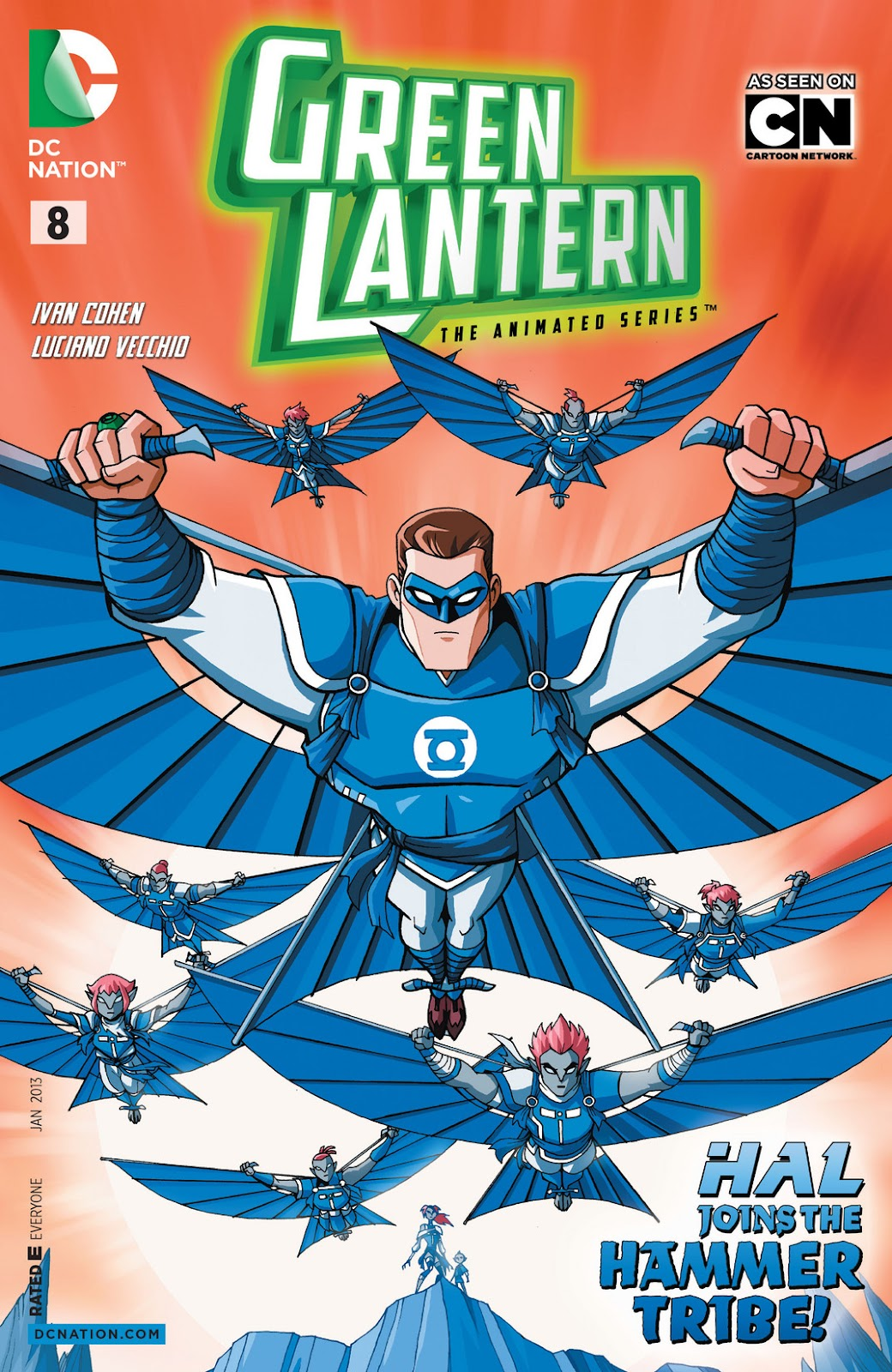 Green Lantern: The Animated Series 8 Page 1