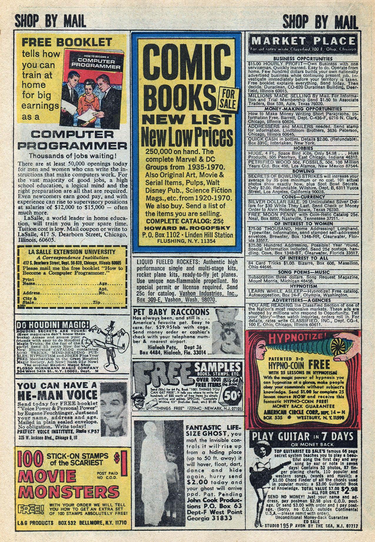 Read online Amazing Adventures (1970) comic -  Issue #3 - 22