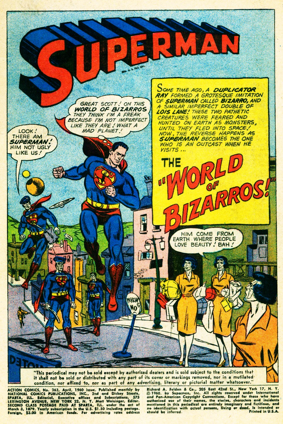 Read online Action Comics (1938) comic -  Issue #263 - 3