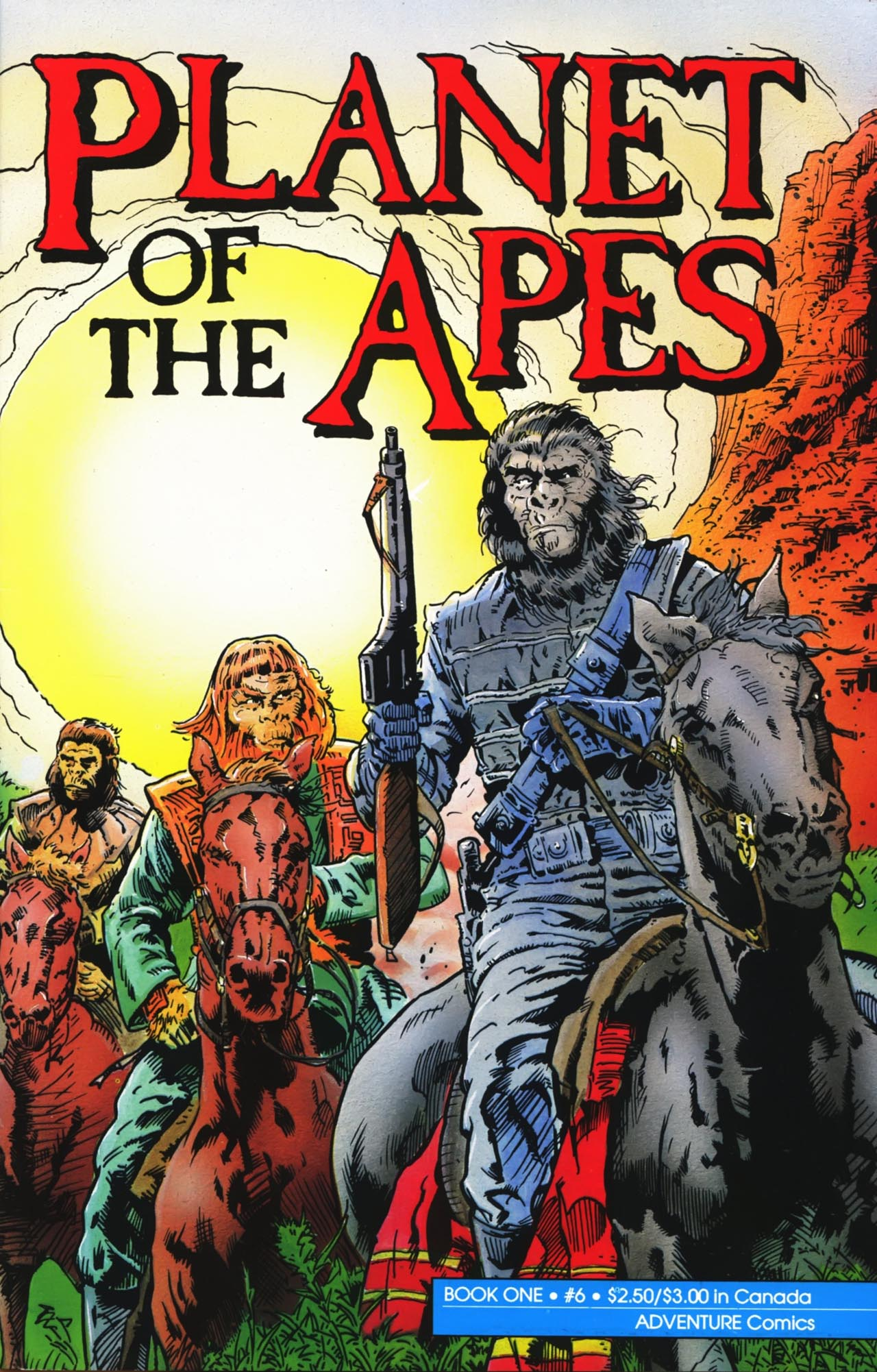 Planet of the Apes (1990) 6 Page 1