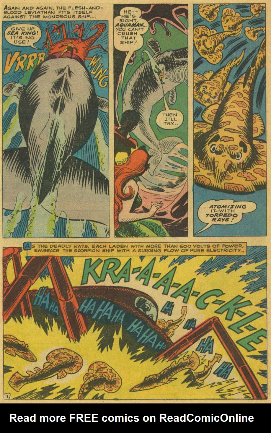 Read online Aquaman (1962) comic -  Issue #37 - 16