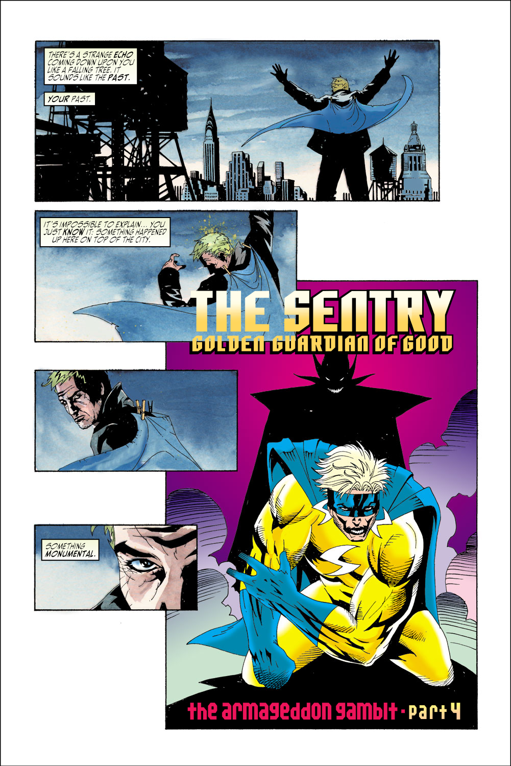 Read online Sentry (2000) comic -  Issue #2 - 5