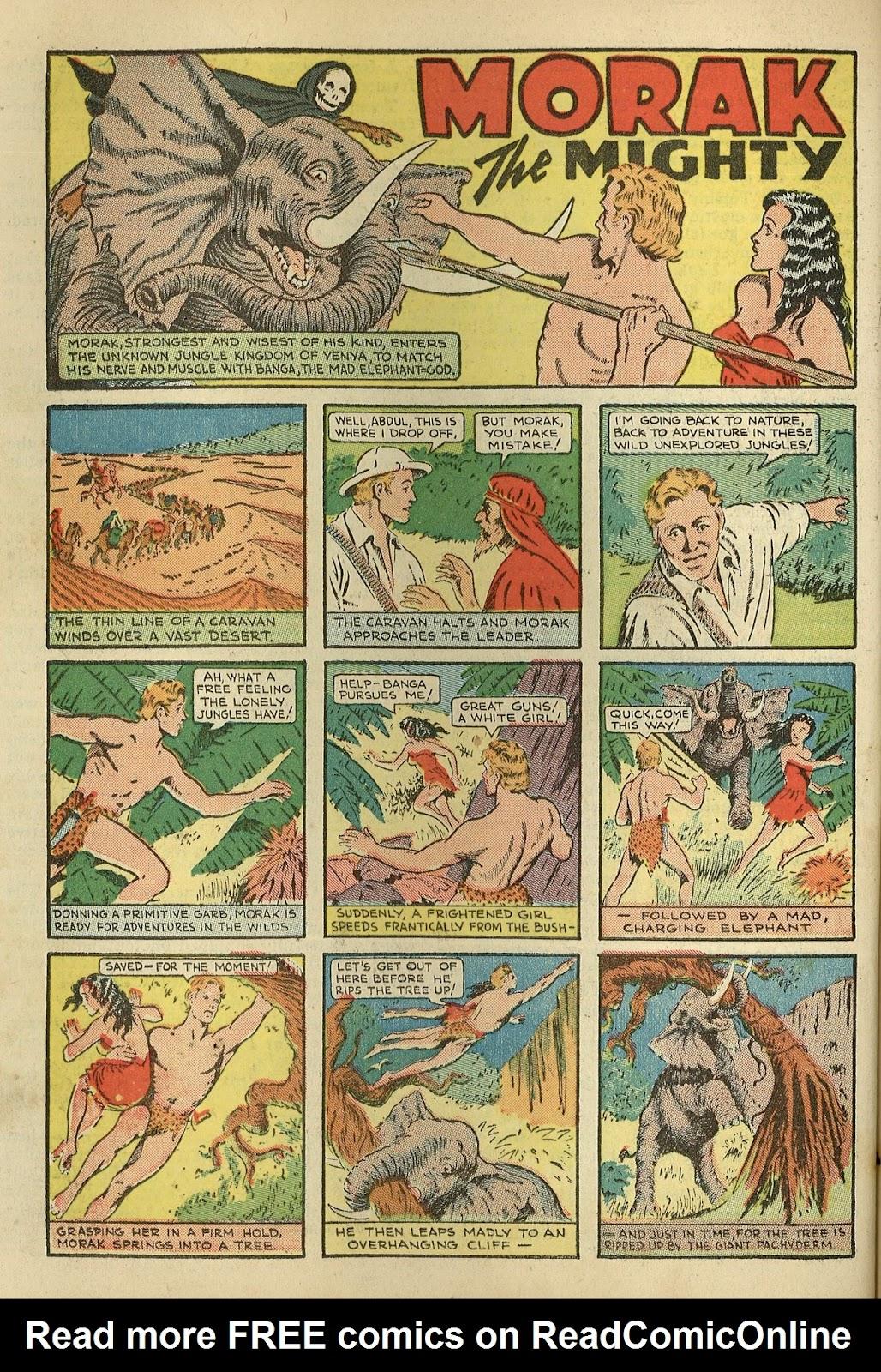 Read online Super-Magician Comics comic -  Issue #1 - 50