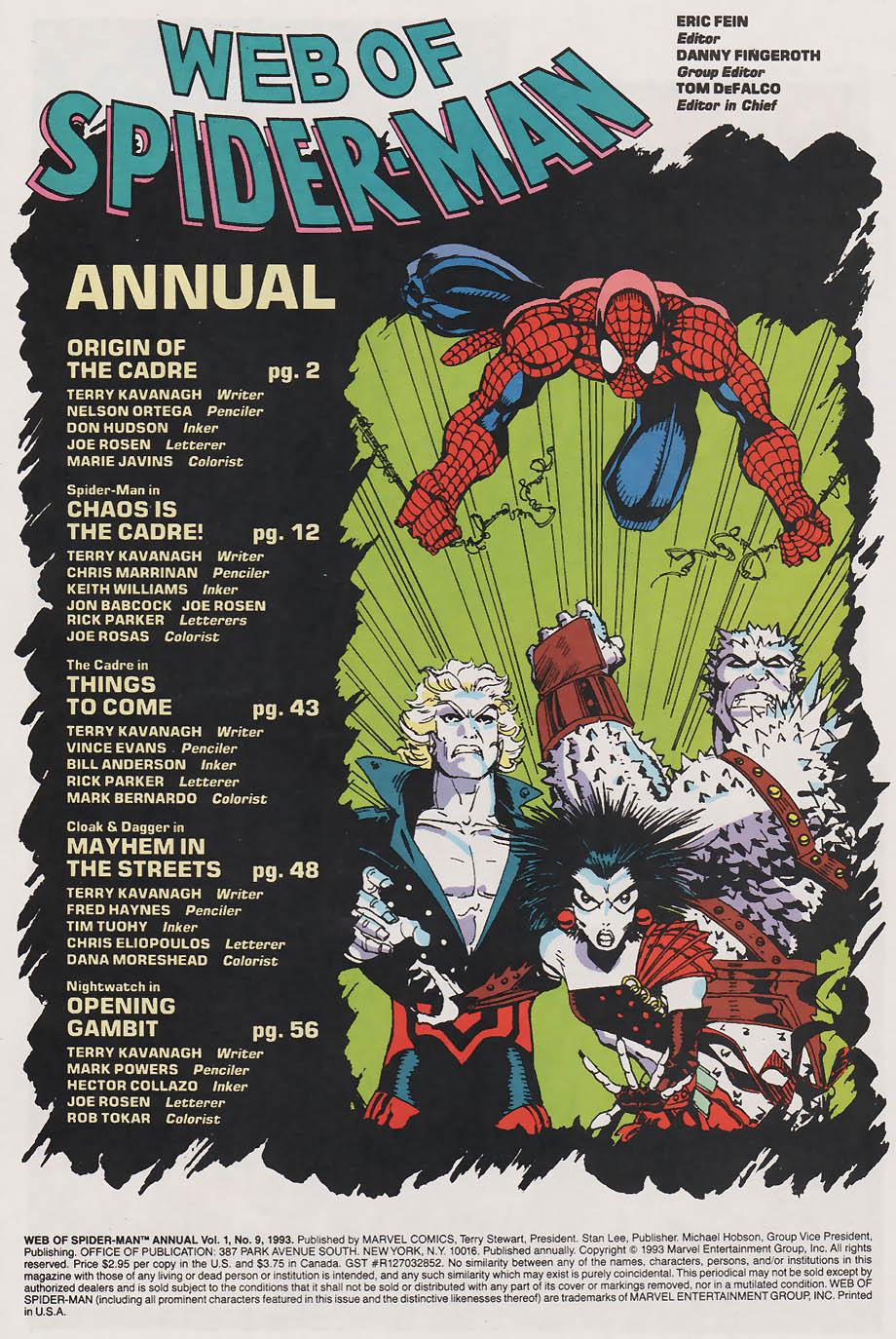 Web of Spider-Man (1985) _Annual 9 #9 - English 2