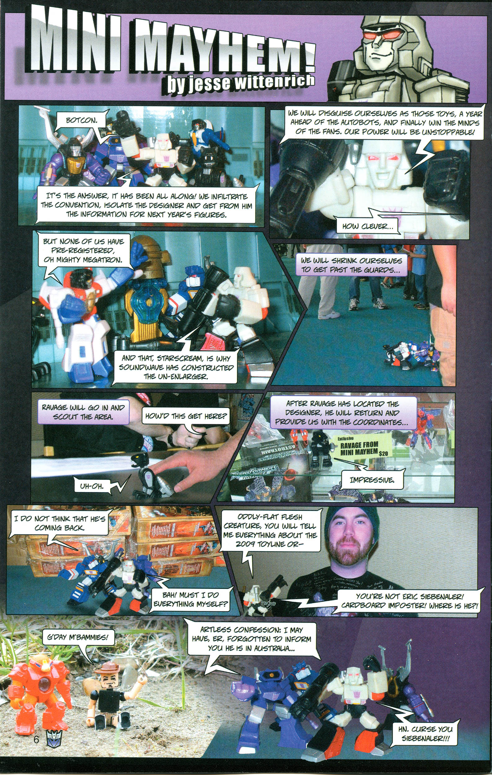 Read online Transformers: Collectors' Club comic -  Issue #21 - 6