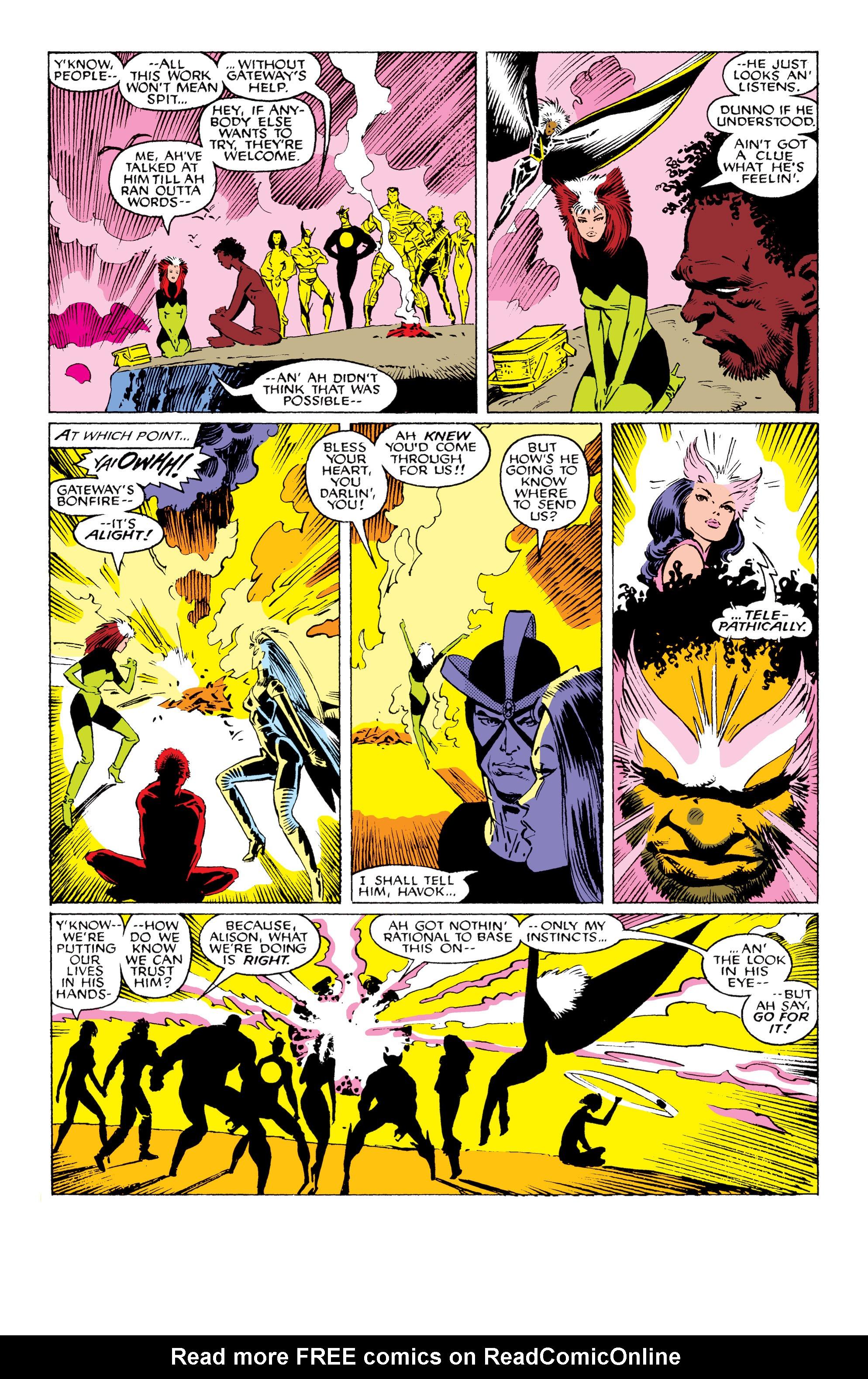 Read online Uncanny X-Men (1963) comic -  Issue #230 - 17
