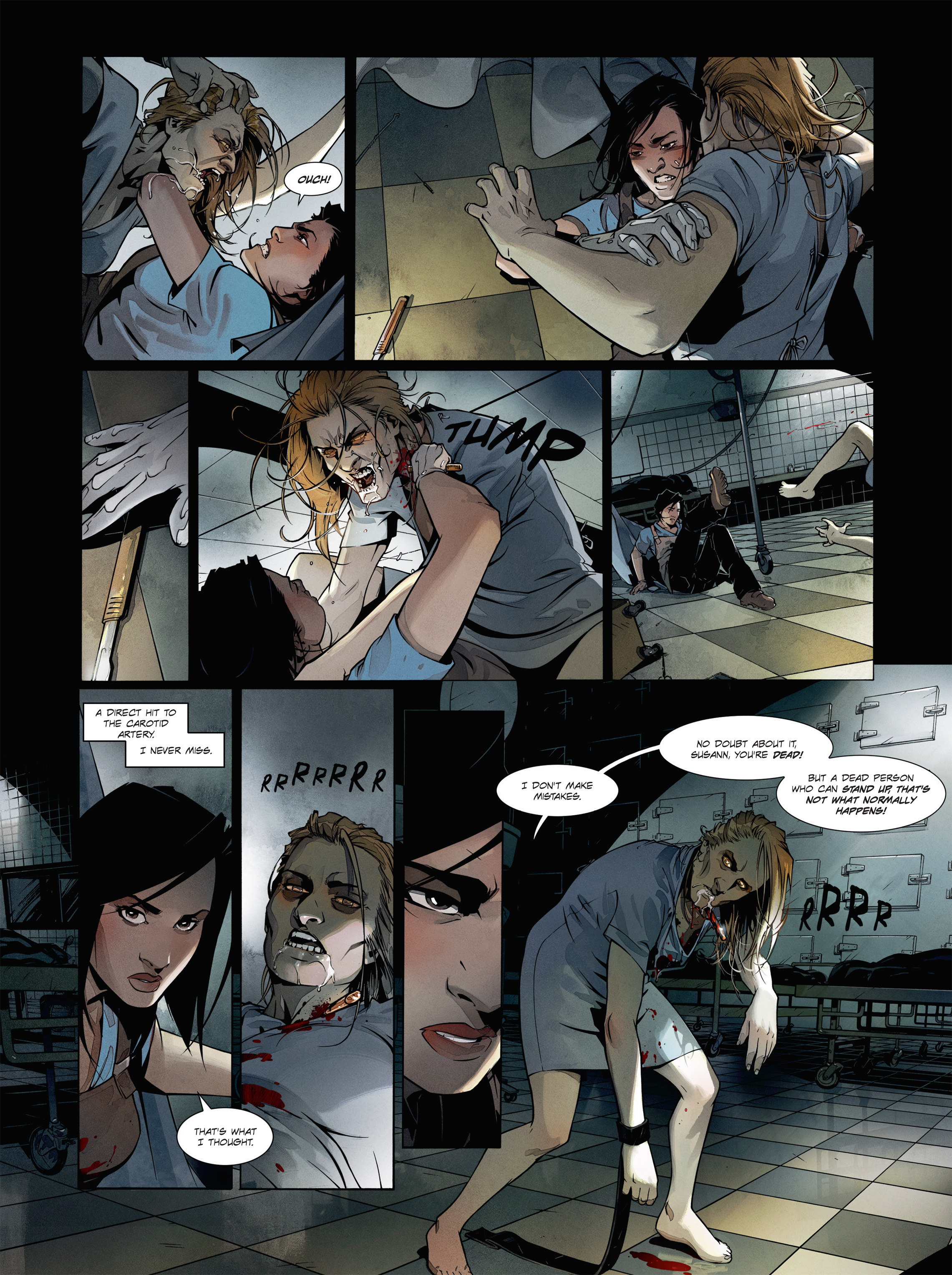 Read online Alice Matheson comic -  Issue #1 - 8
