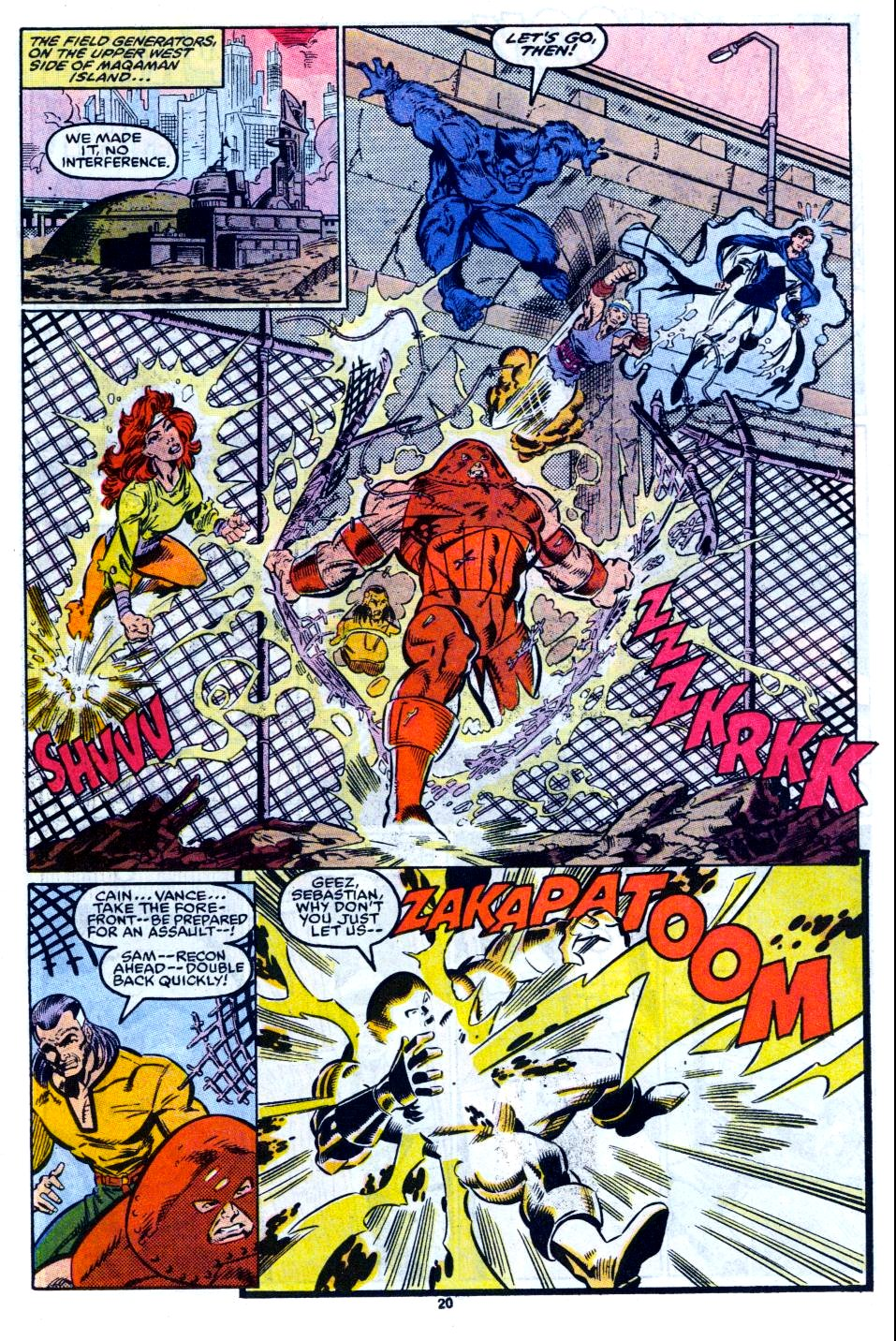 The New Warriors Issue #12 #16 - English 17