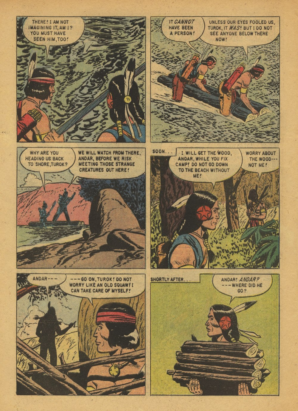 Read online Turok, Son of Stone comic -  Issue #15 - 4