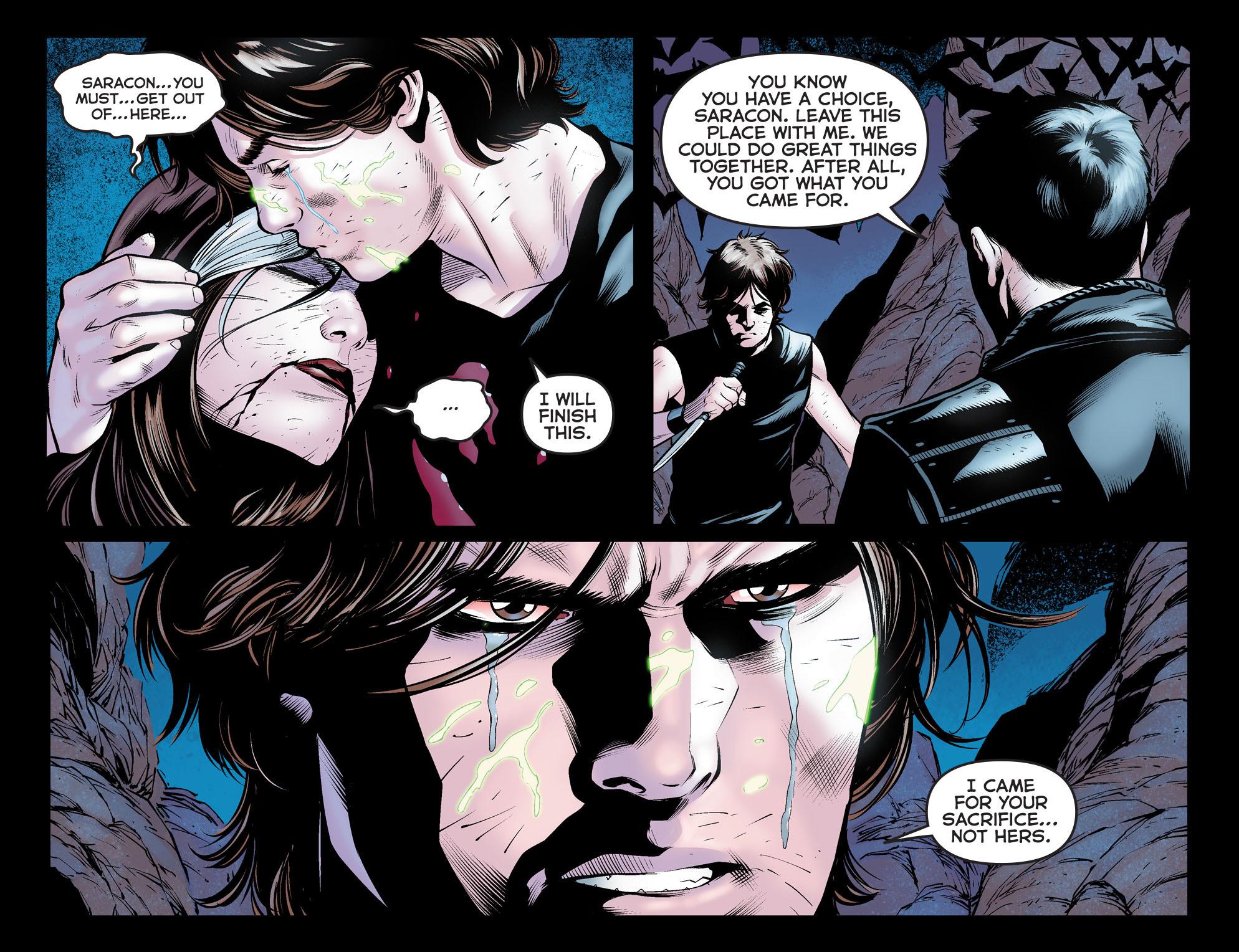 Read online Arrow: The Dark Archer comic -  Issue #12 - 15