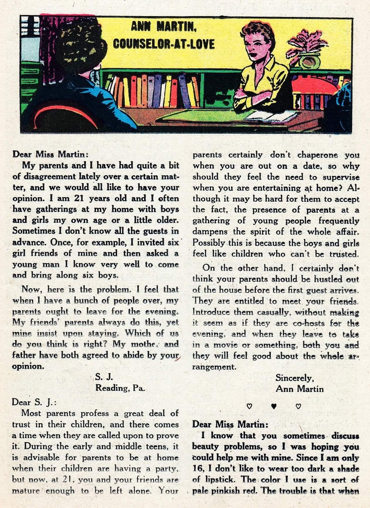 Read online Secret Hearts comic -  Issue #29 - 25