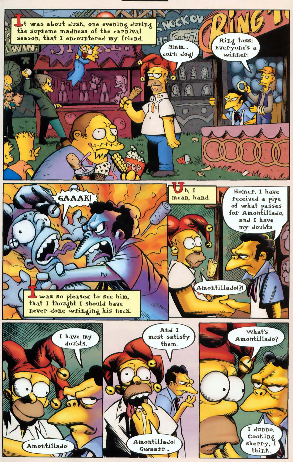 Read online Treehouse of Horror comic -  Issue #9 - 23
