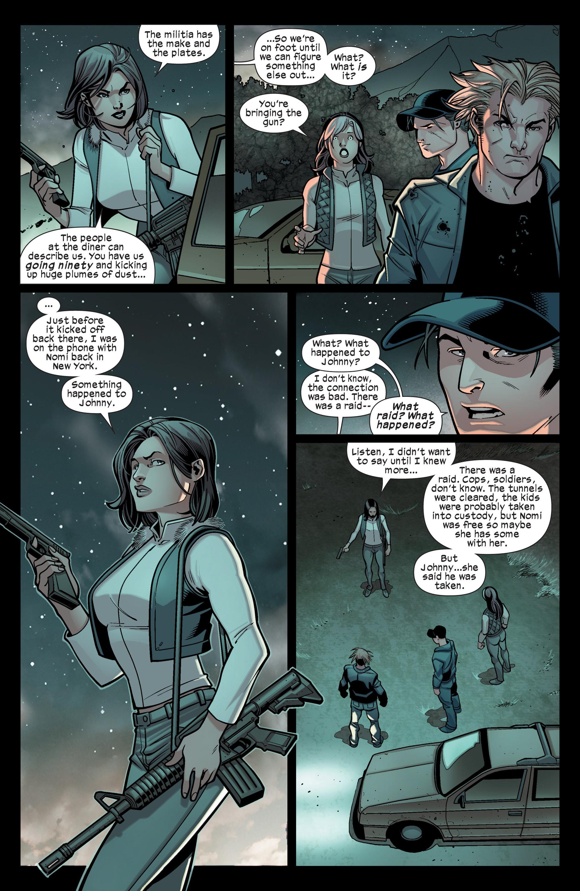 Read online Ultimate Comics X-Men comic -  Issue #15 - 14