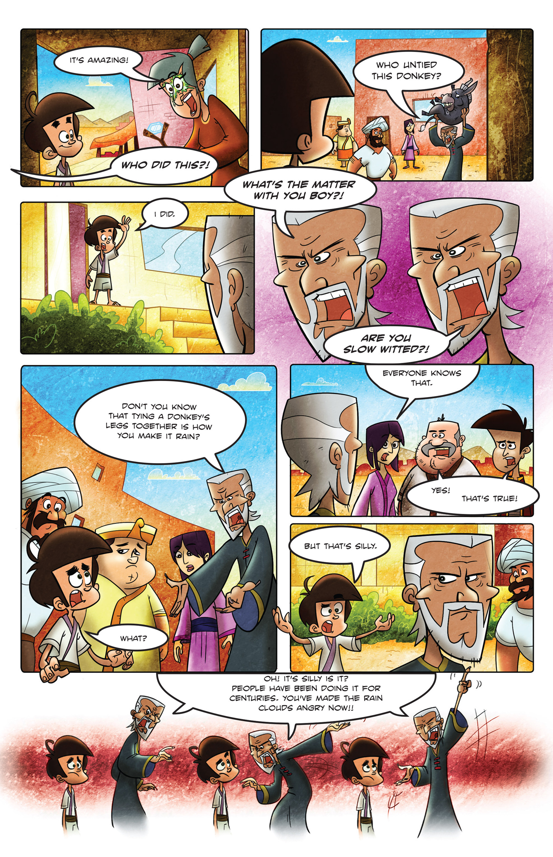 Read online 1001 Nights comic -  Issue #2 - 12