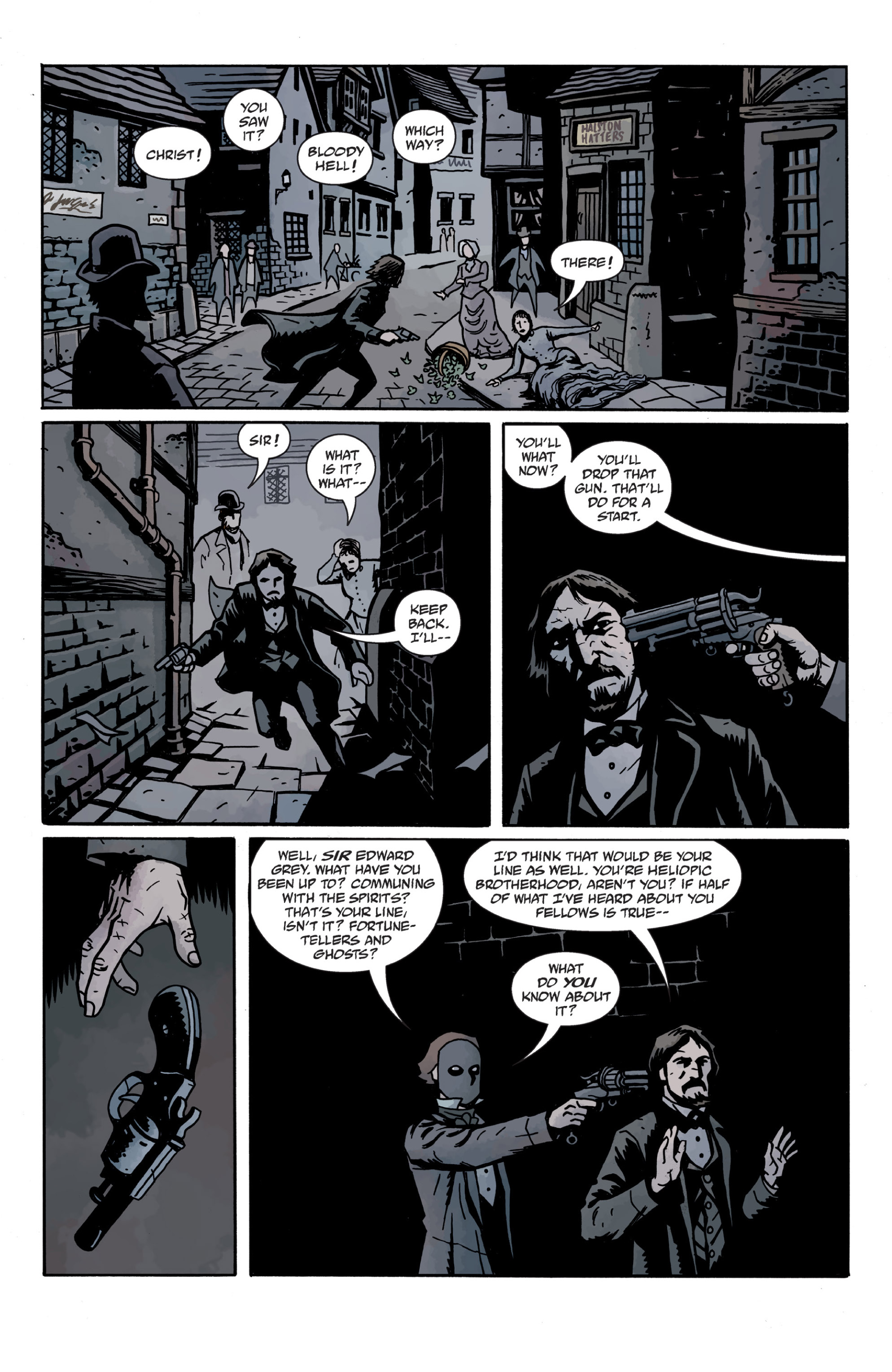 Read online Sir Edward Grey, Witchfinder: In the Service of Angels comic -  Issue # TPB - 83