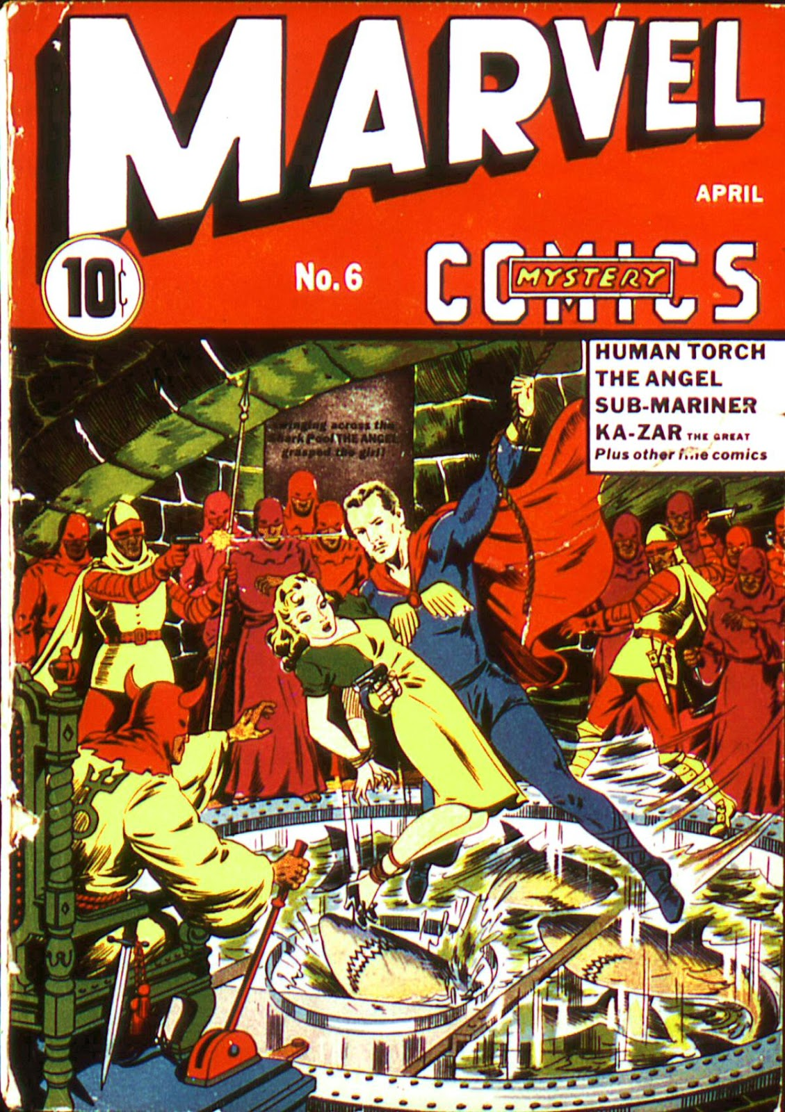 Marvel Mystery Comics (1939) issue 6 - Page 1