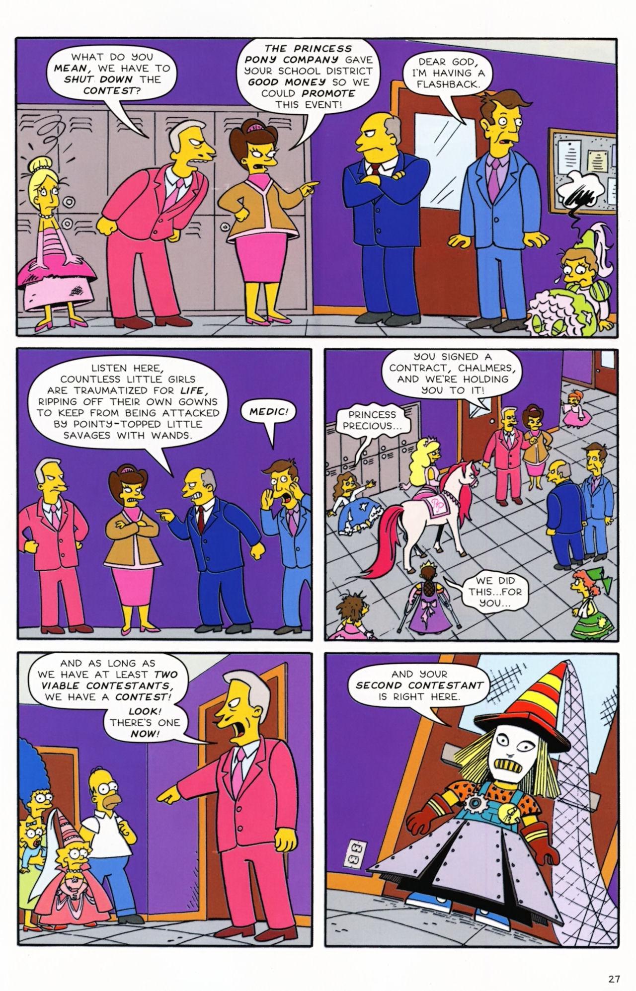 Read online Simpsons Comics Presents Bart Simpson comic -  Issue #55 - 23