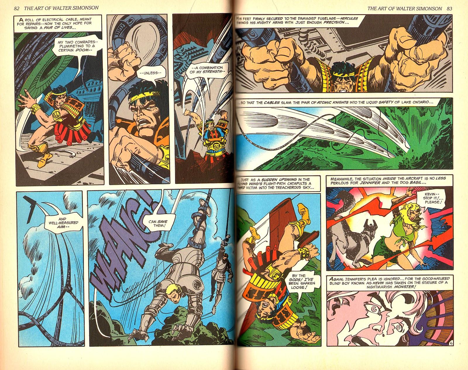 Read online The Art of Walter Simonson comic -  Issue # TPB - 43
