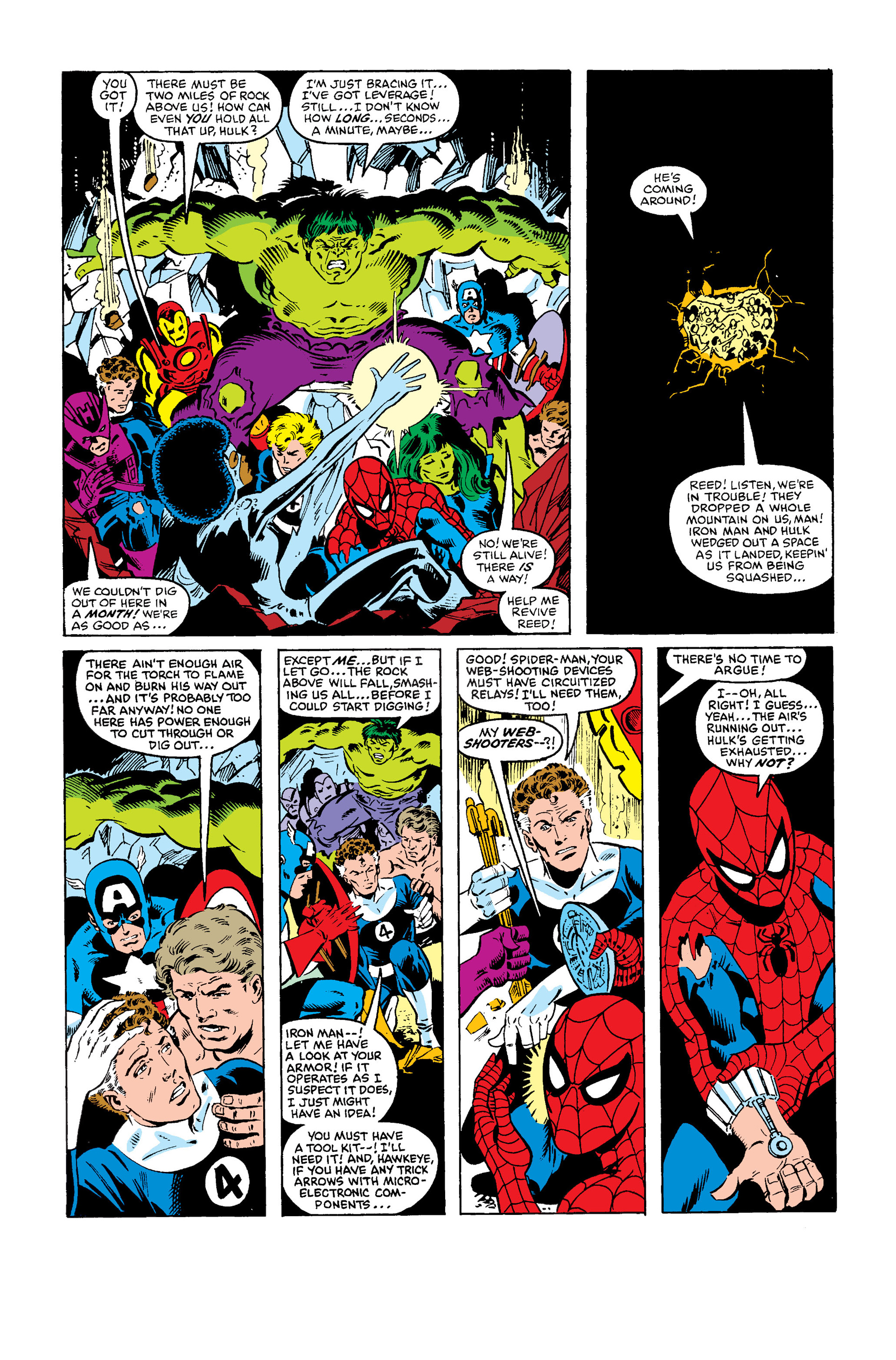 Read online Secret Wars (1985) comic -  Issue #4 - 19