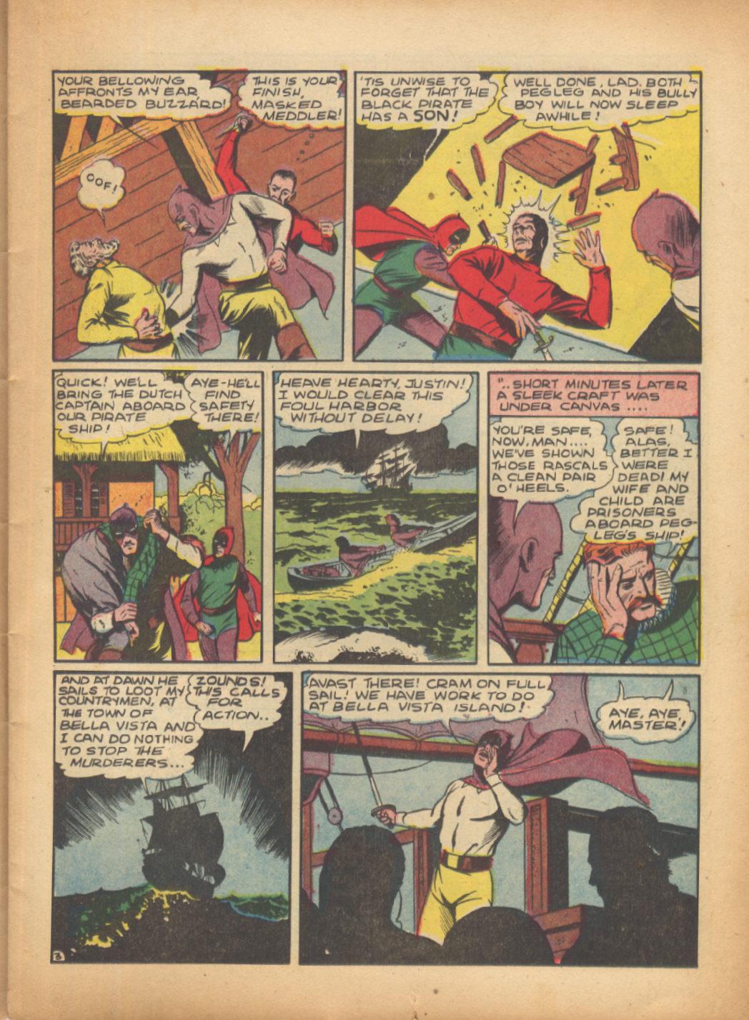 Read online Sensation (Mystery) Comics comic -  Issue #24 - 19