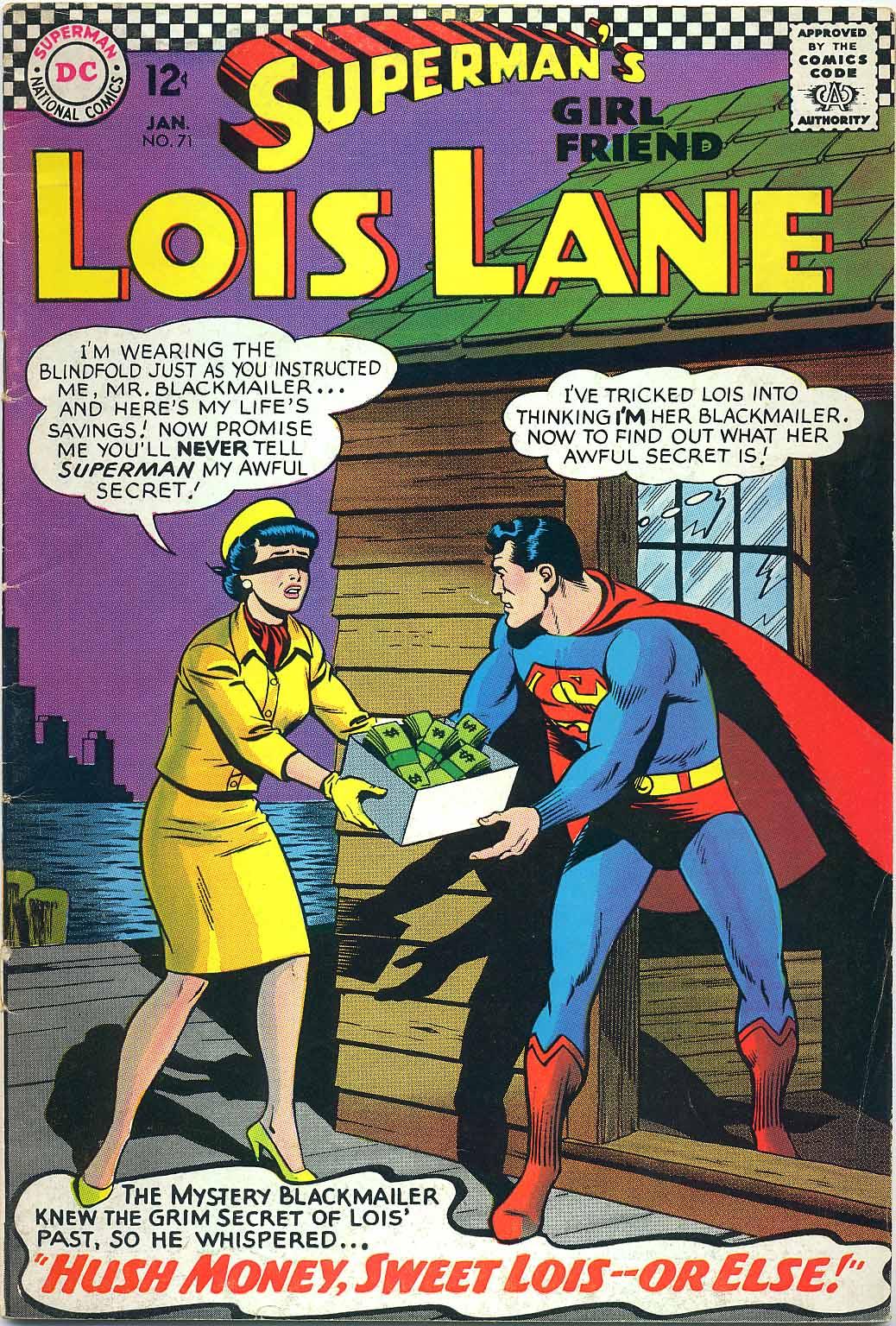 Supermans Girl Friend, Lois Lane 71 Page 1