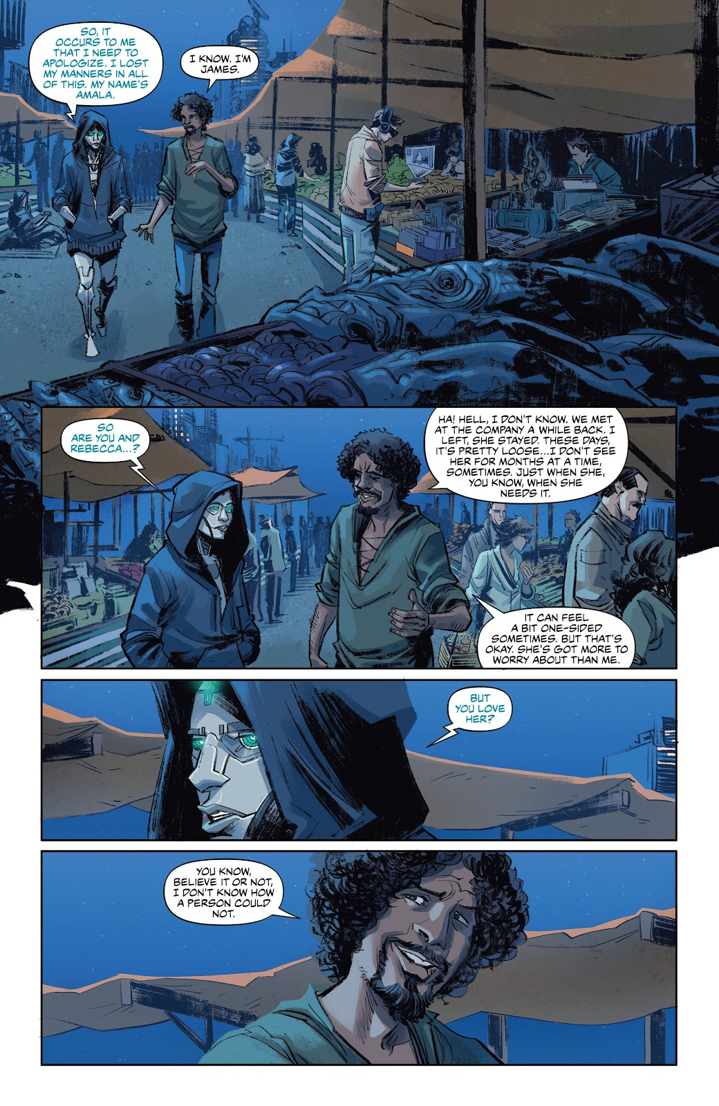 Read online Self/Made comic -  Issue #4 - 8