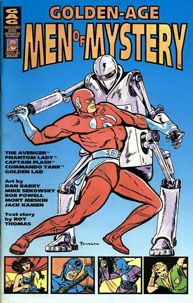 Read online Golden-Age Men of Mystery comic -  Issue #3 - 1