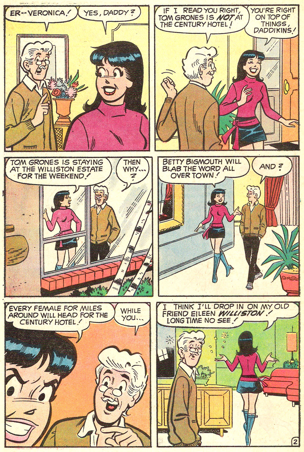 Read online Archie's Girls Betty and Veronica comic -  Issue #186 - 30