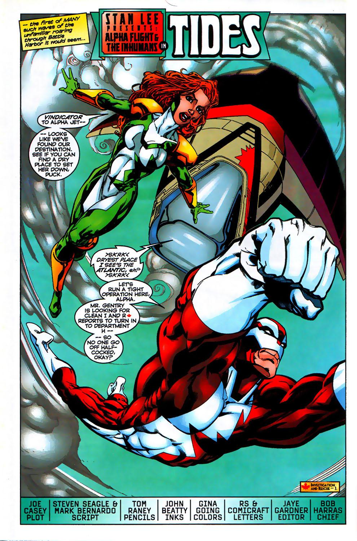 Read online Alpha Flight (1997) comic -  Issue # _Annual - 4