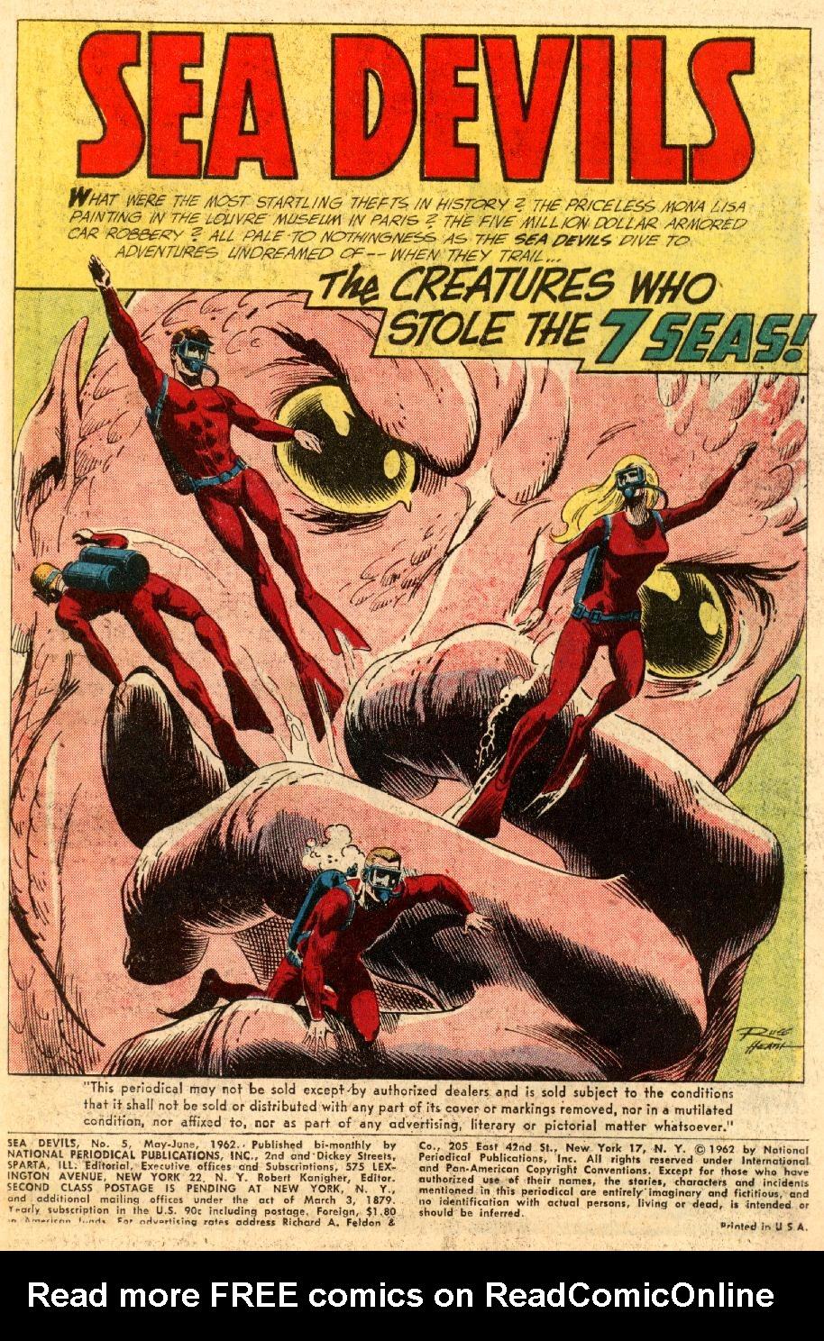 Read online Sea Devils comic -  Issue #5 - 4