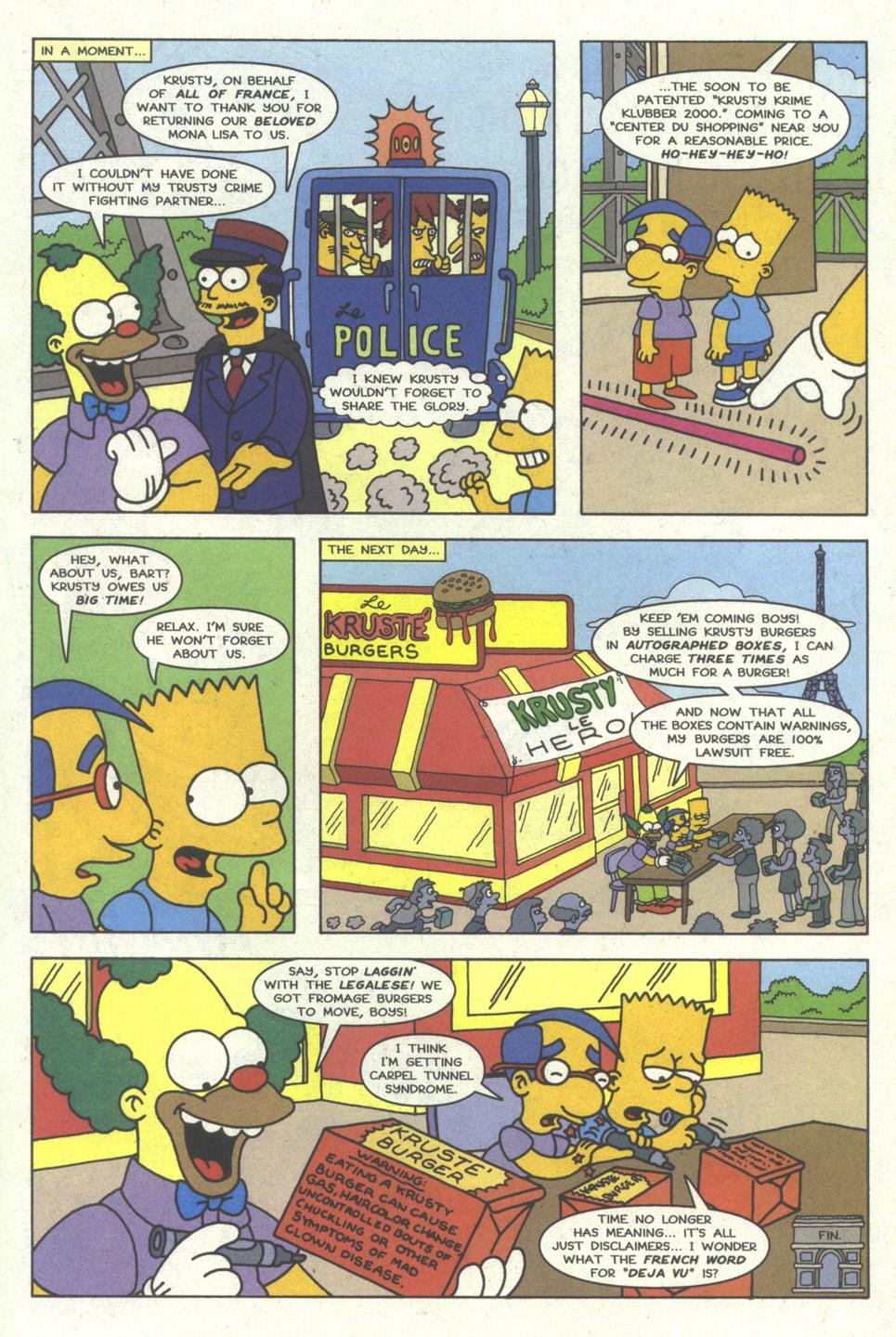 Read online Simpsons Comics comic -  Issue #23 - 22