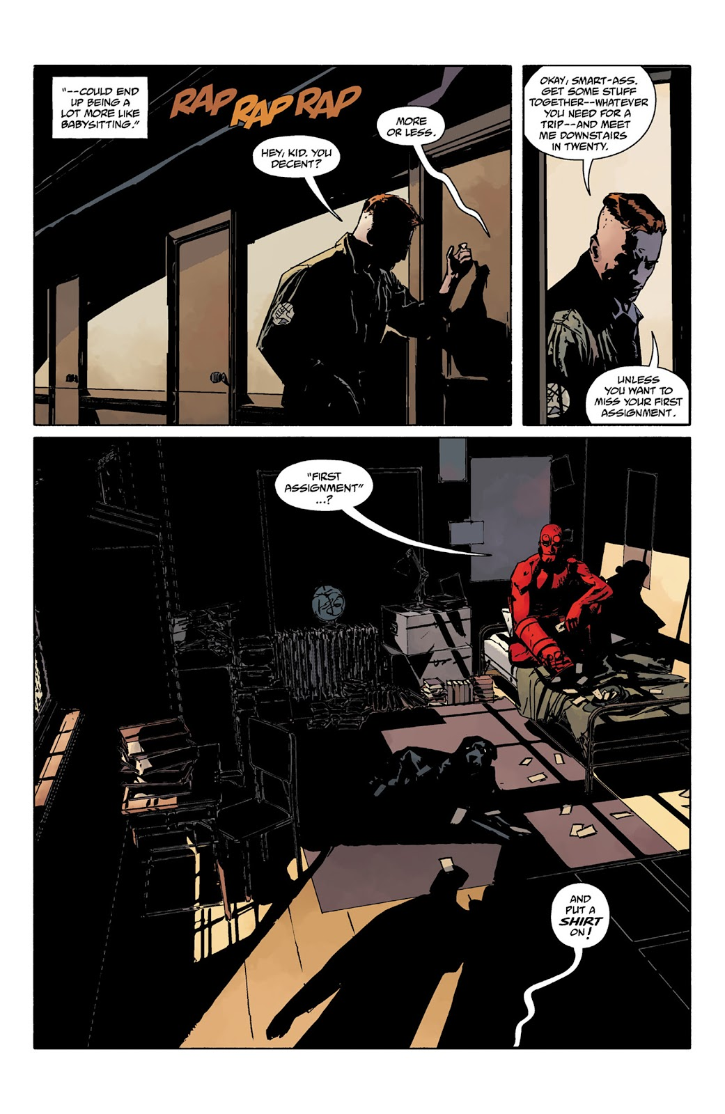 Read online Hellboy and the B.P.R.D. comic -  Issue # _TPB - 17