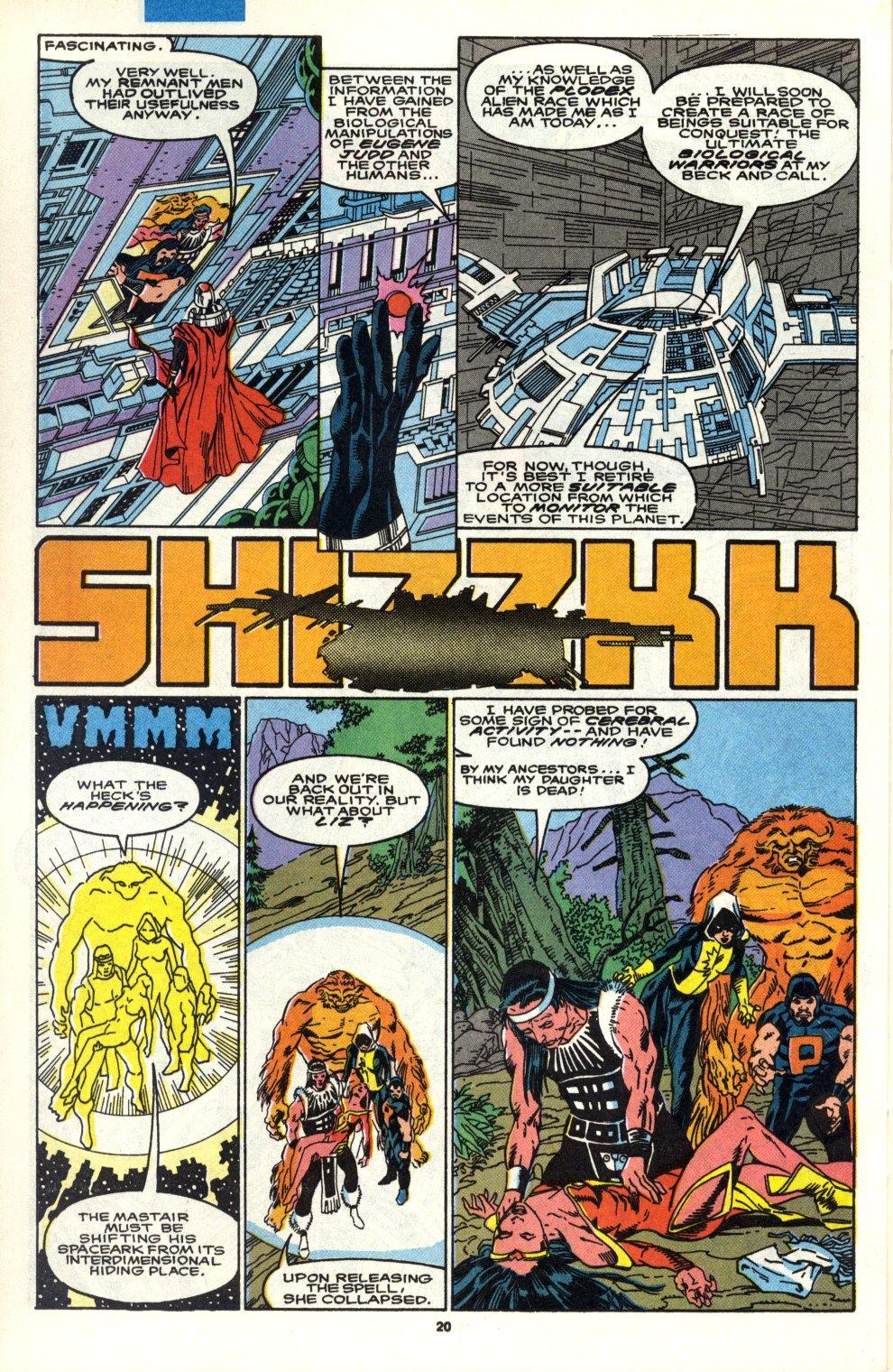 Read online Alpha Flight (1983) comic -  Issue #90 - 17
