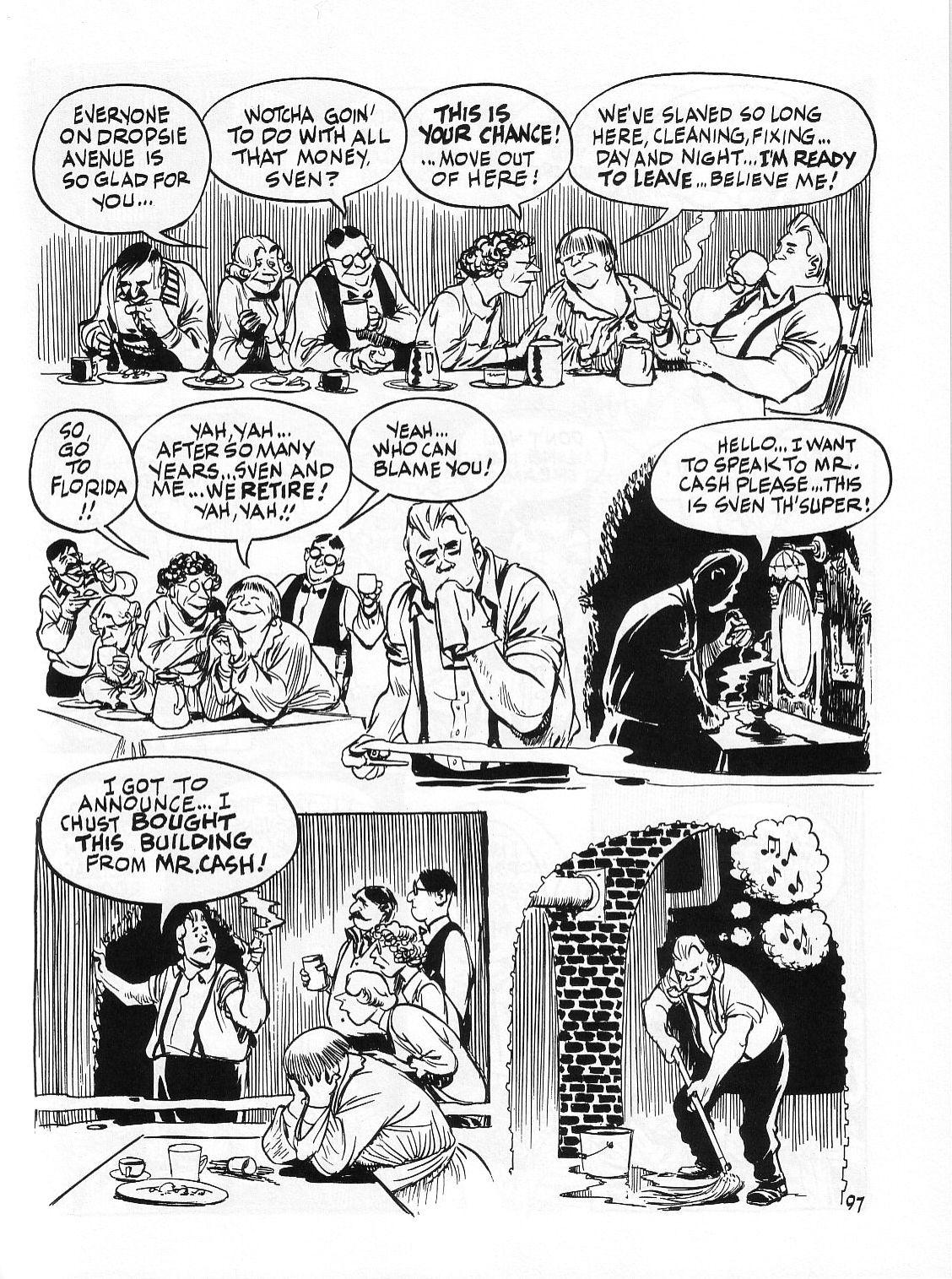Read online Dropsie Avenue, The Neighborhood comic -  Issue # Full - 99