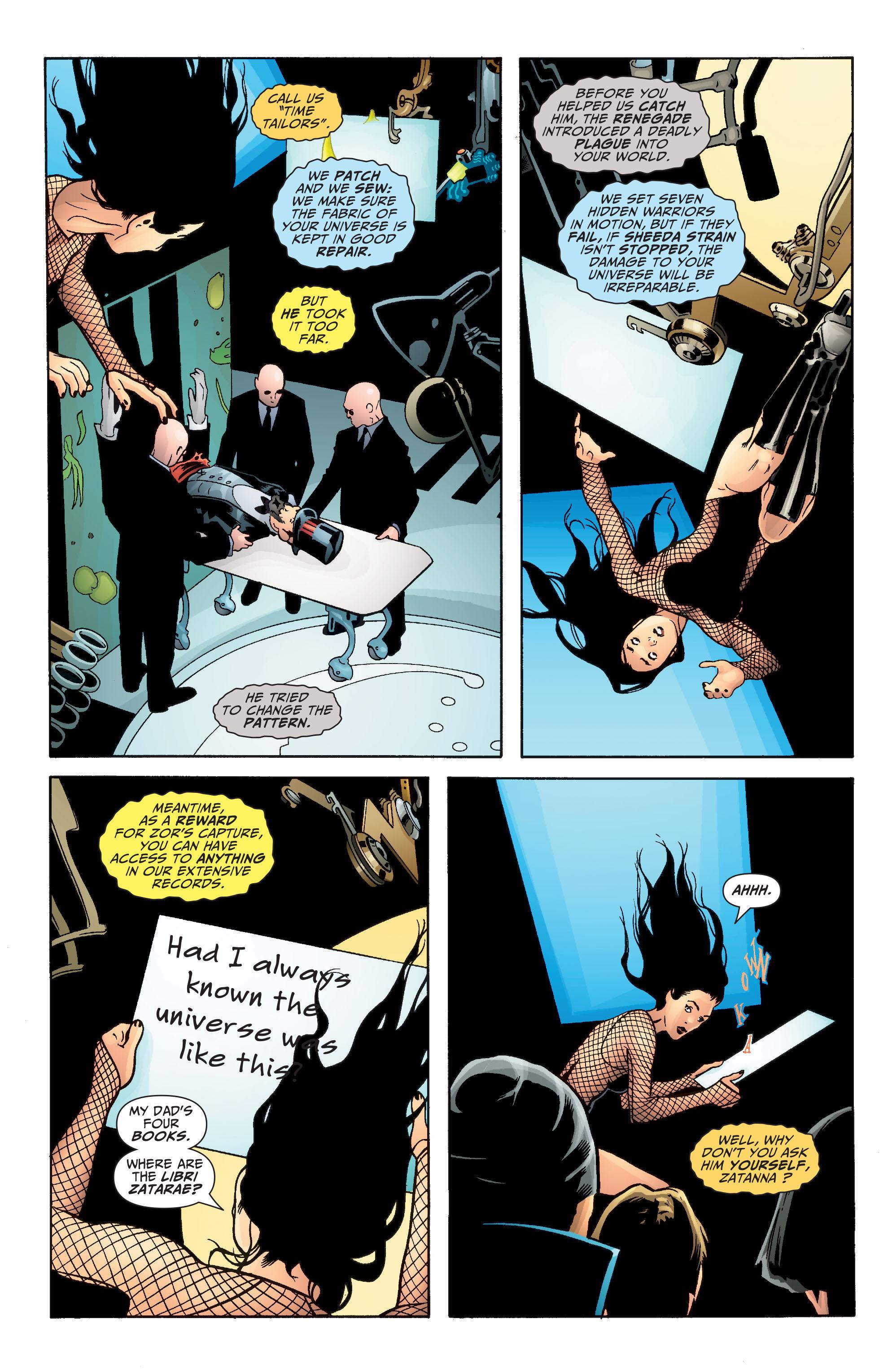 Read online Seven Soldiers: Zatanna comic -  Issue #4 - 19
