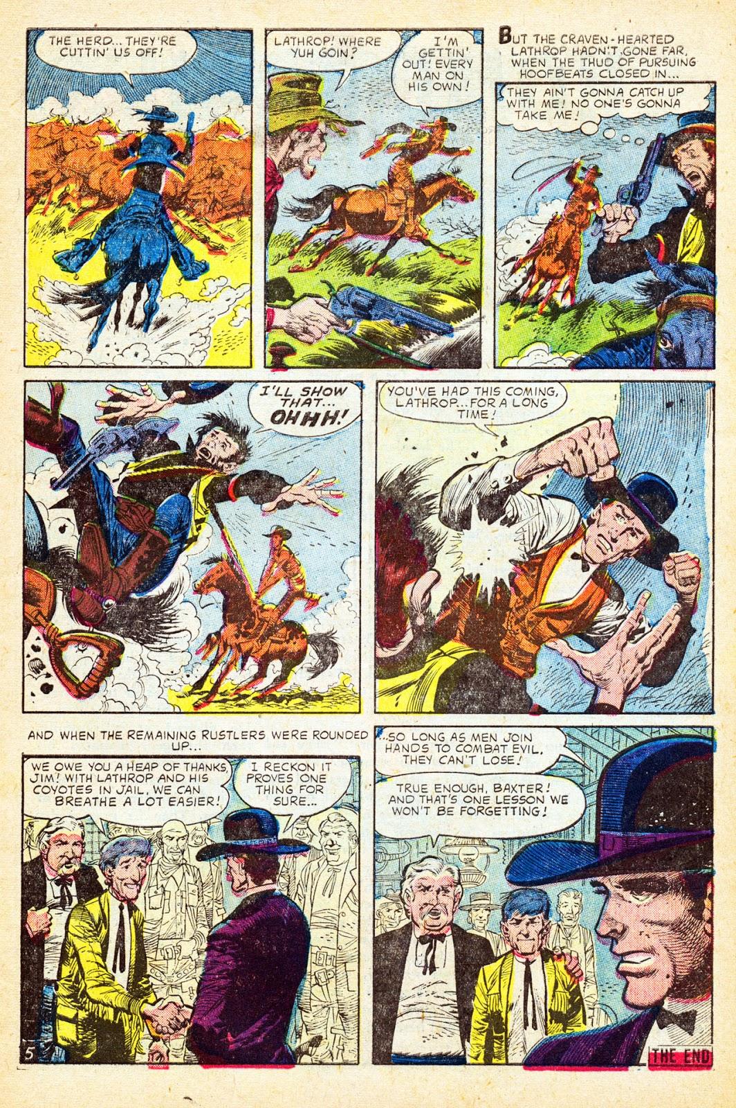 Gunsmoke Western issue 37 - Page 7