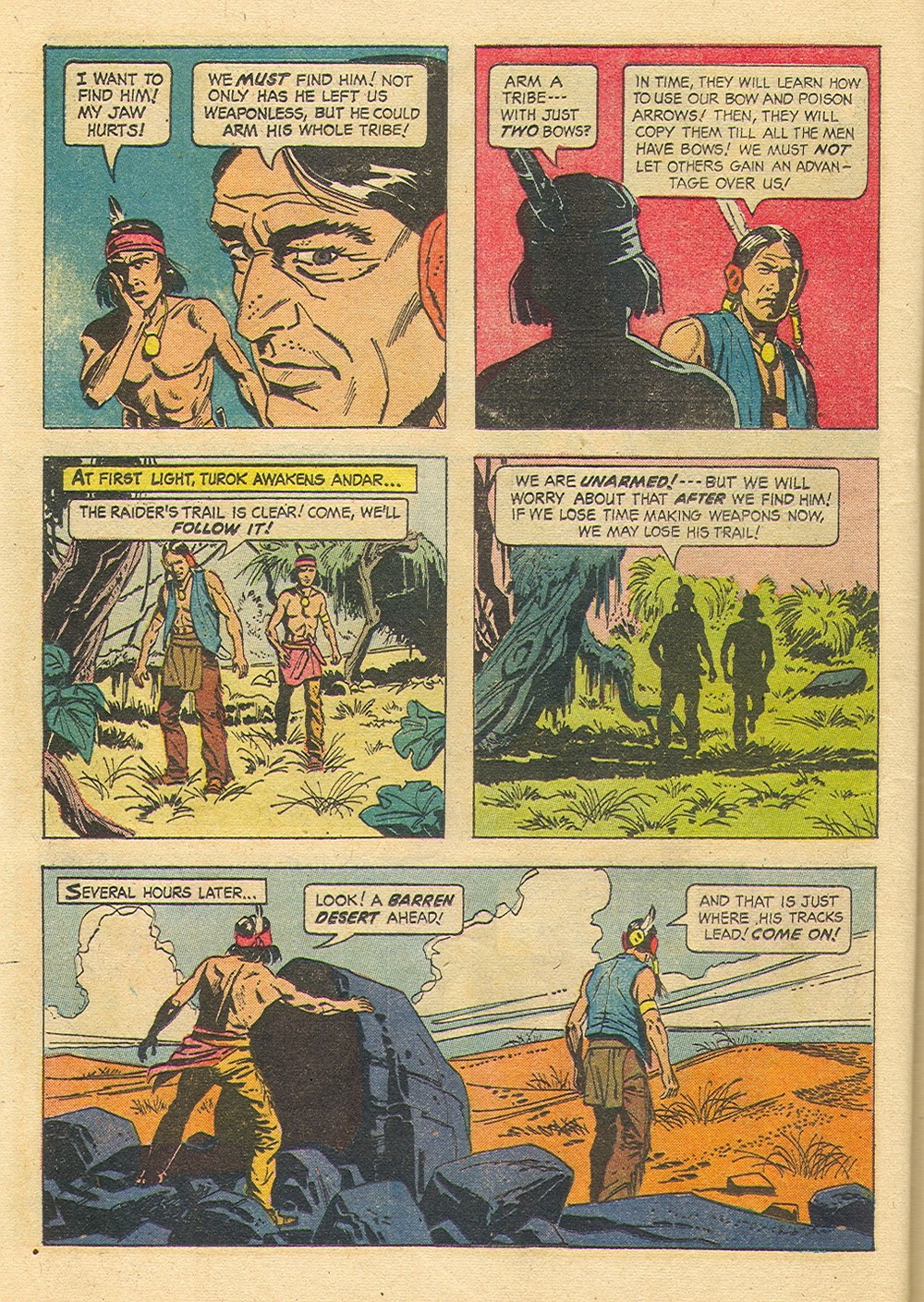 Read online Turok, Son of Stone comic -  Issue #35 - 24