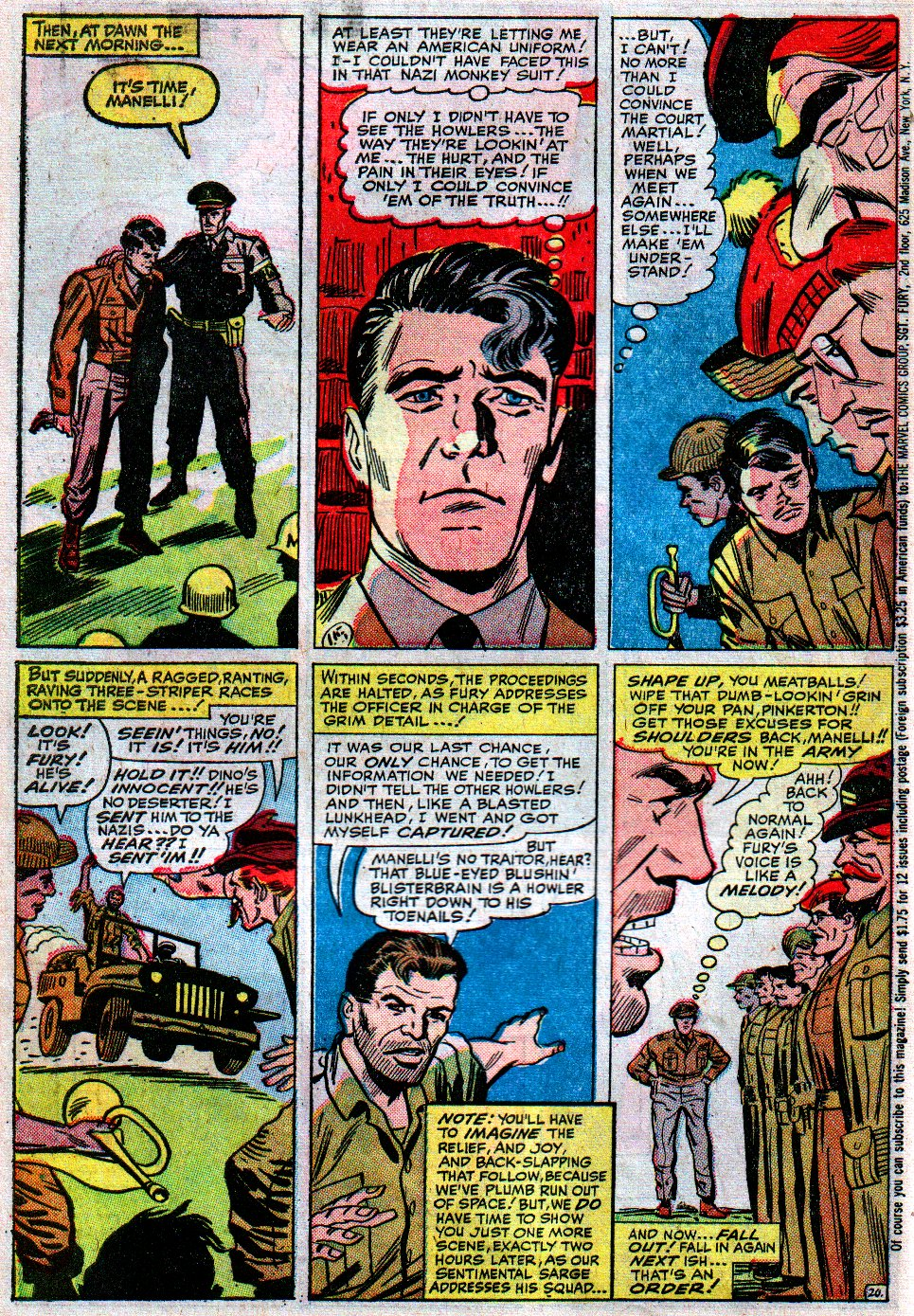 Read online Sgt. Fury comic -  Issue #12 - 30