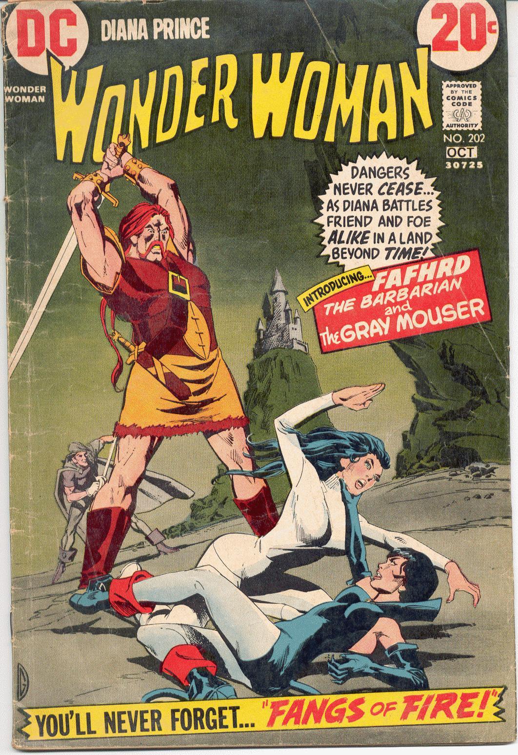 Read online Wonder Woman (1942) comic -  Issue #202 - 1