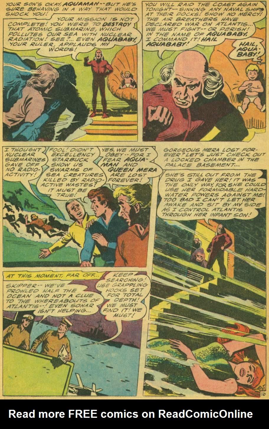 Read online Aquaman (1962) comic -  Issue #28 - 21