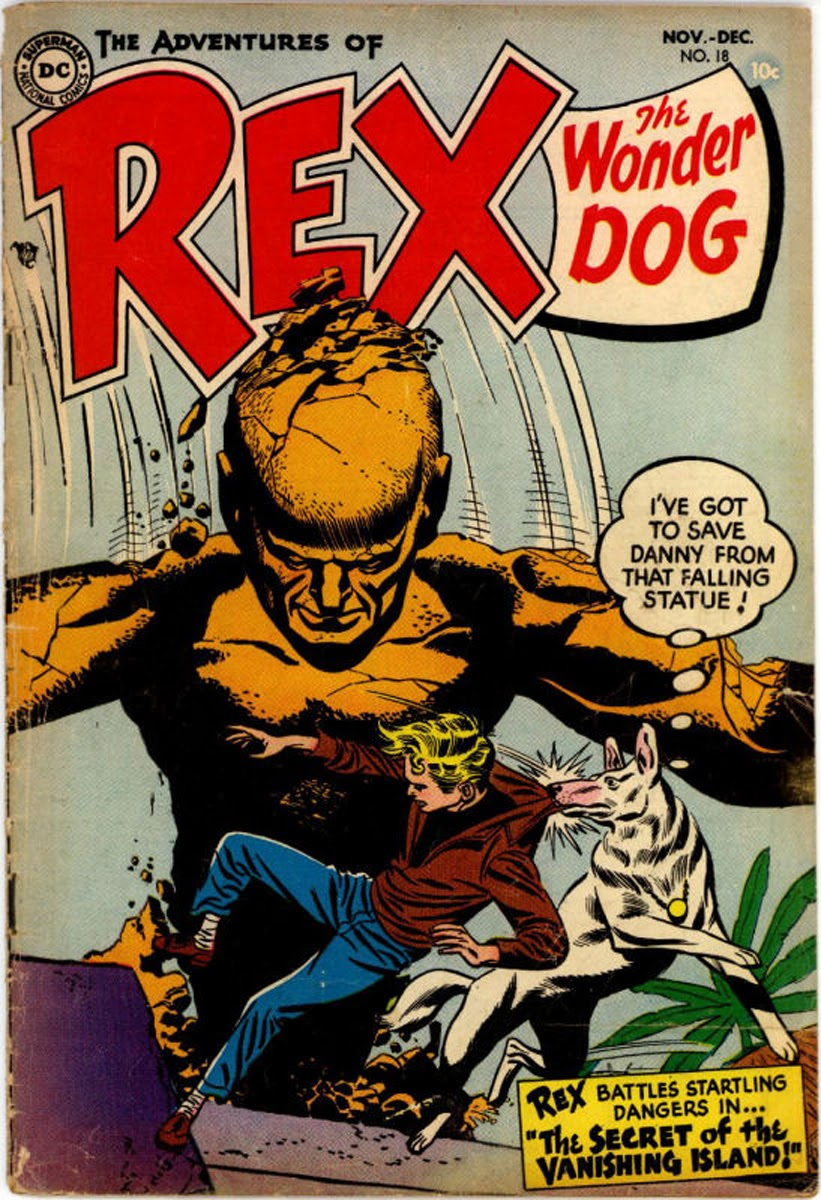 The Adventures of Rex the Wonder Dog issue 18 - Page 1