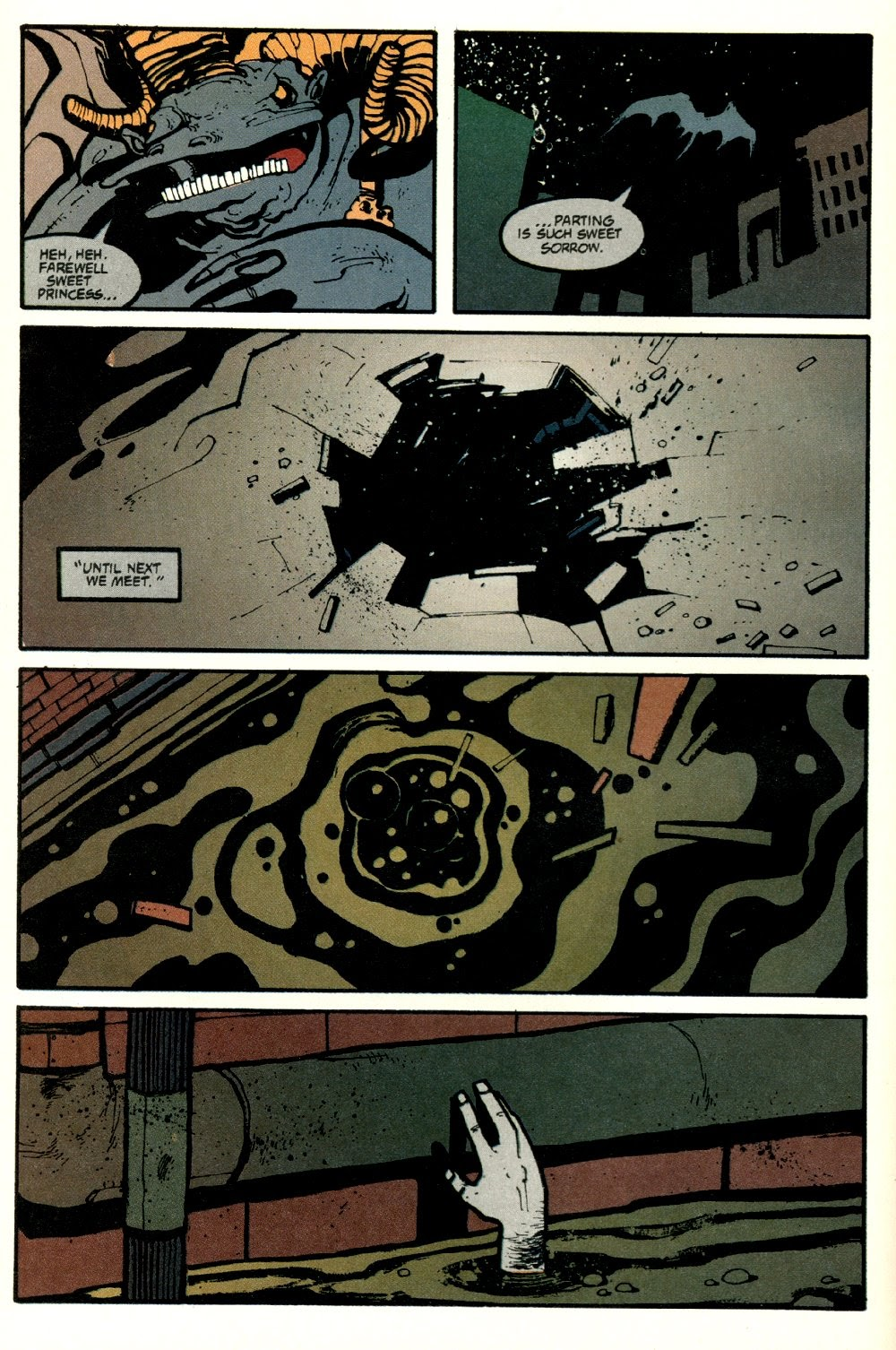 Read online Ted McKeever's Metropol comic -  Issue #8 - 24